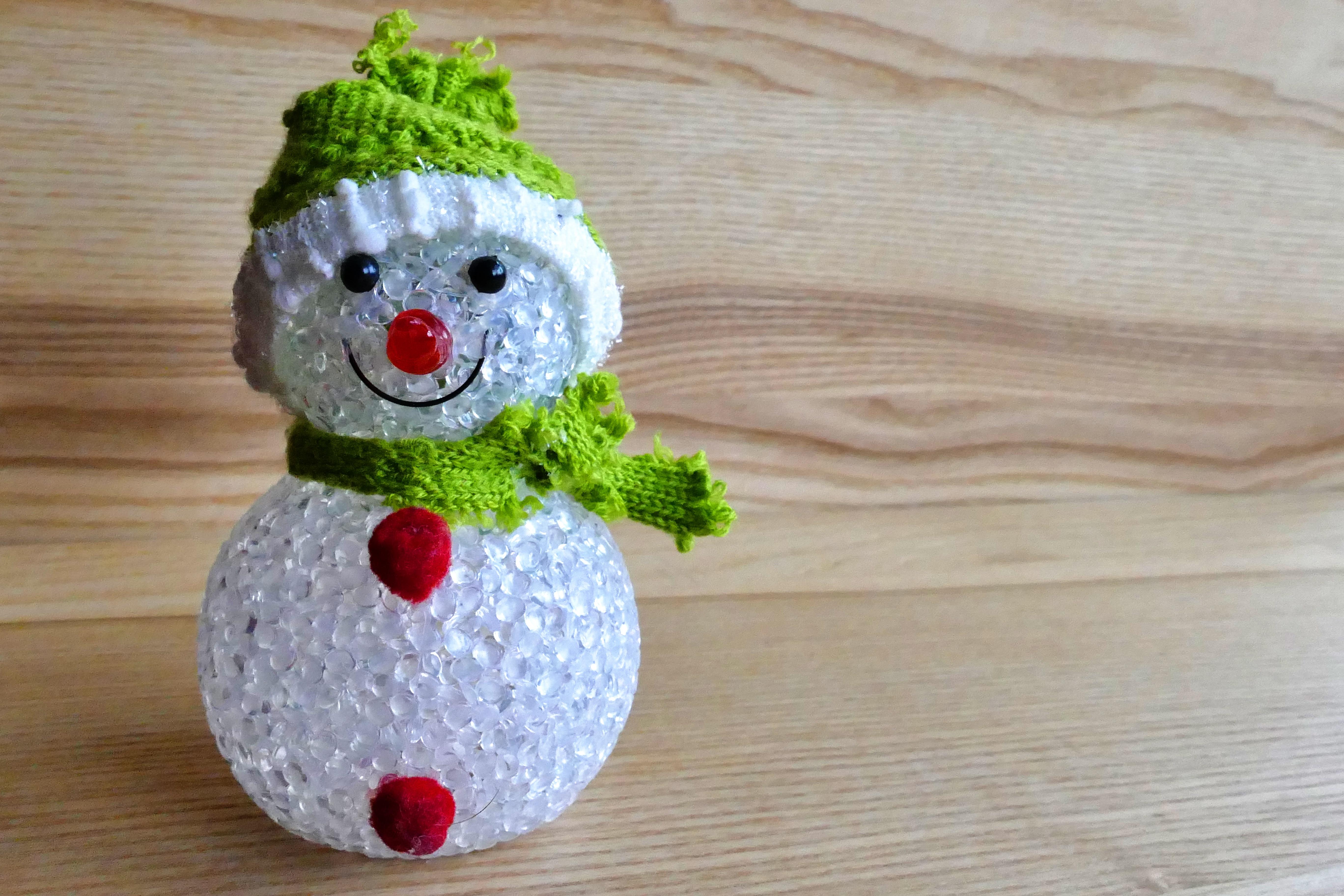Gambar Musim Dingin Putih Imut Perayaan Simbol Liburan Topi