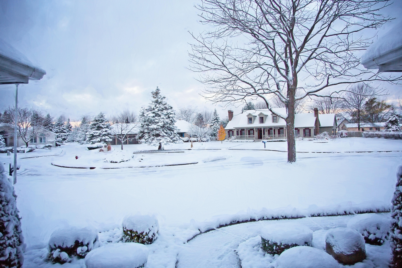 Fotoğraf Kar Soğuk Beyaz Sokak Ev Komşuluk Hava Yerleşim