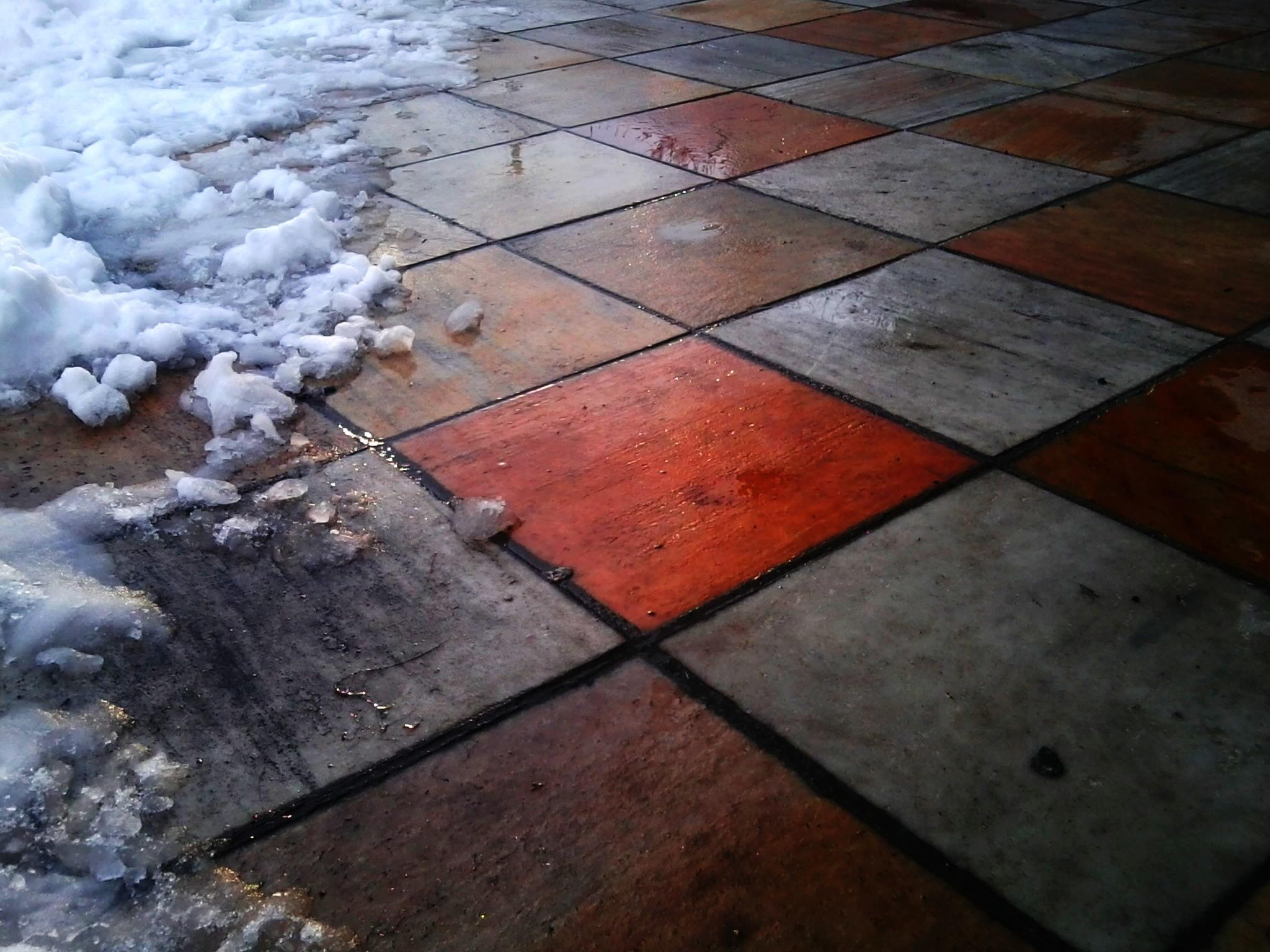 Free Images Snow Ground Floor Asphalt Pattern Color