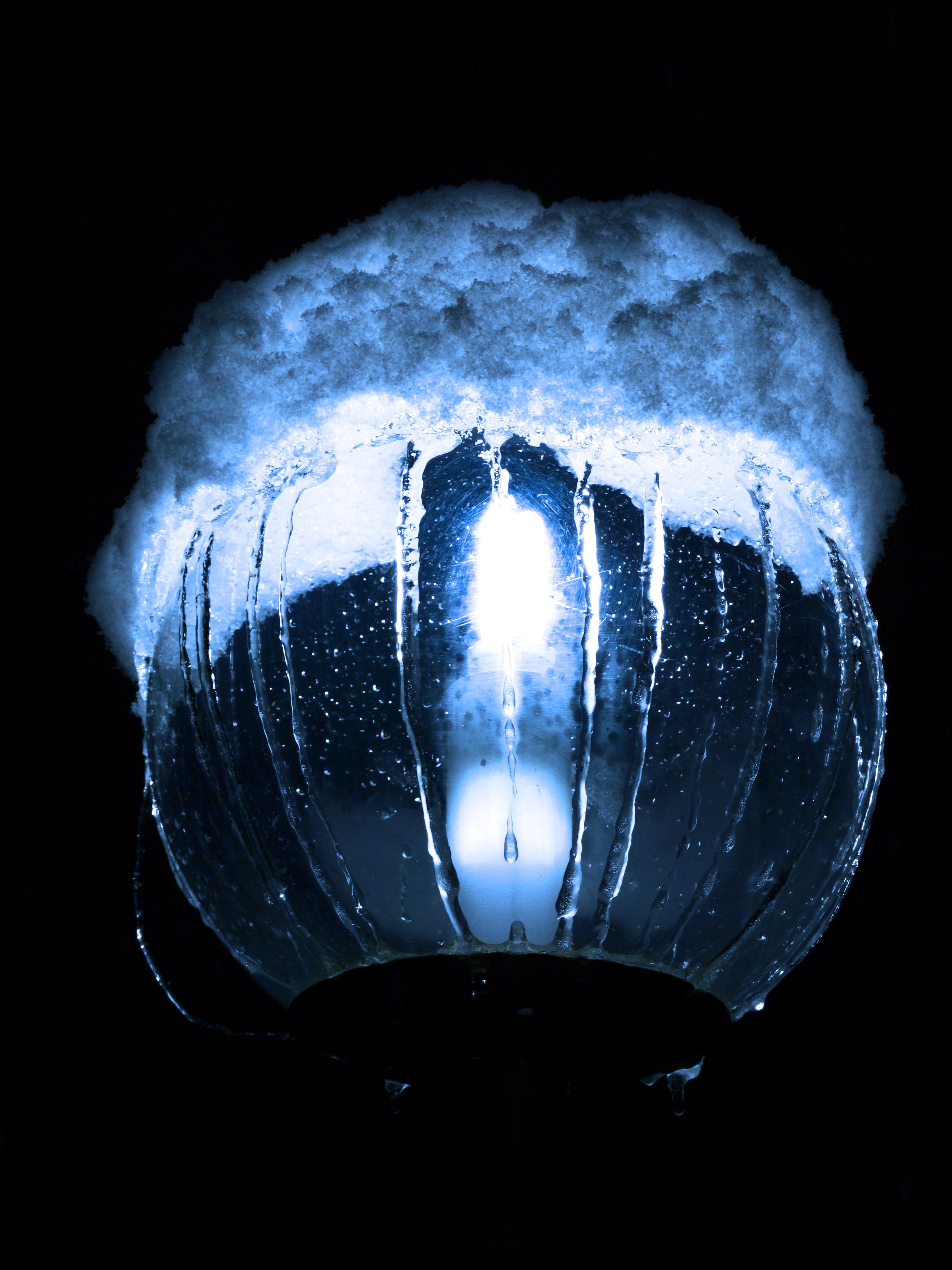Kostenlose foto : Schnee, Nacht-, Dämmerung, Platz, Dunkelheit, blau ...