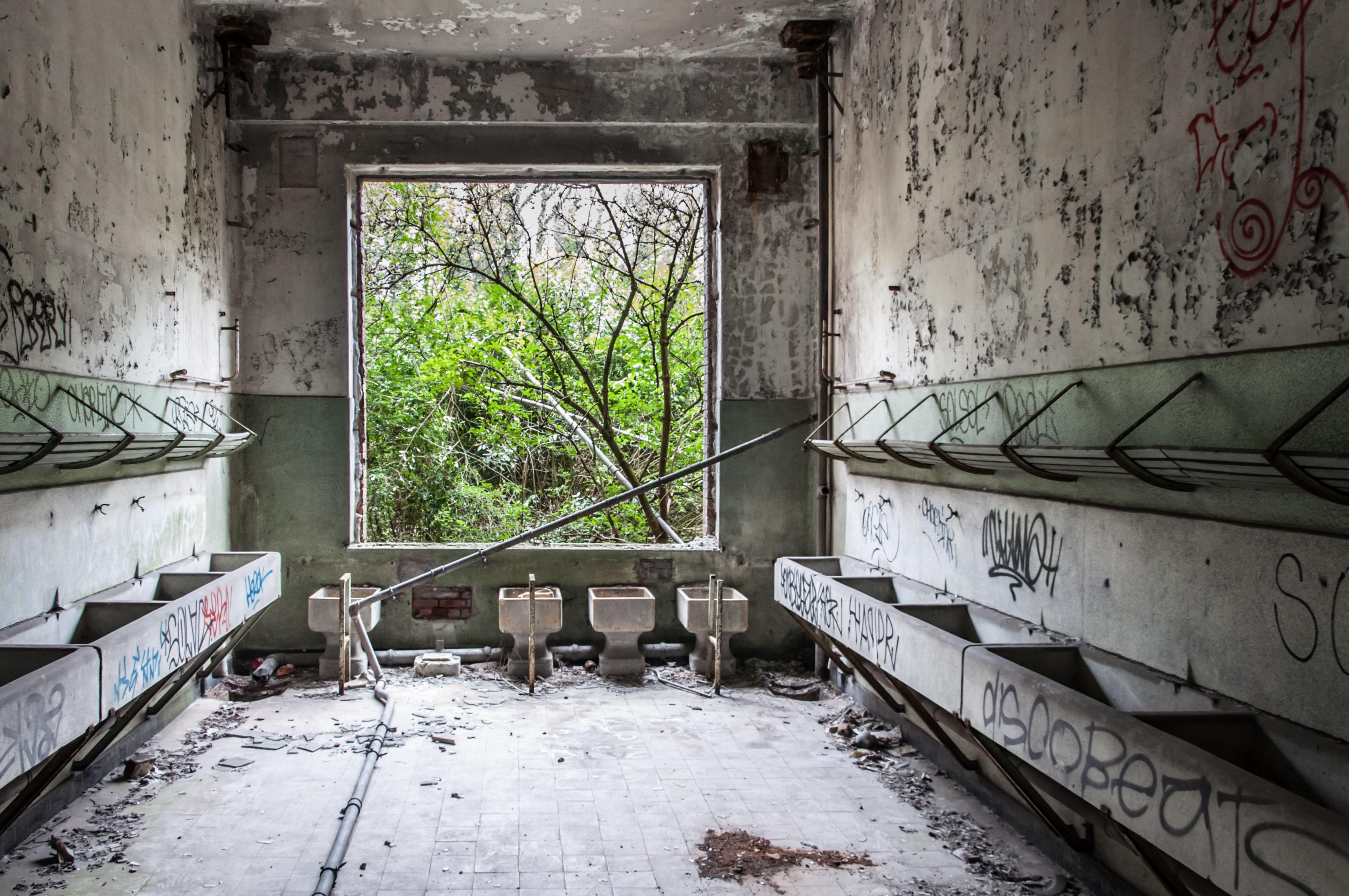 Fotoğraf Kar Yapı Doku Pencere Bina Inşaat Kulübe Kale