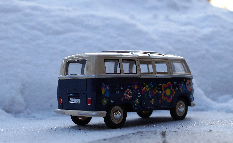 free images snow winter vintage retro van old auto vw bus