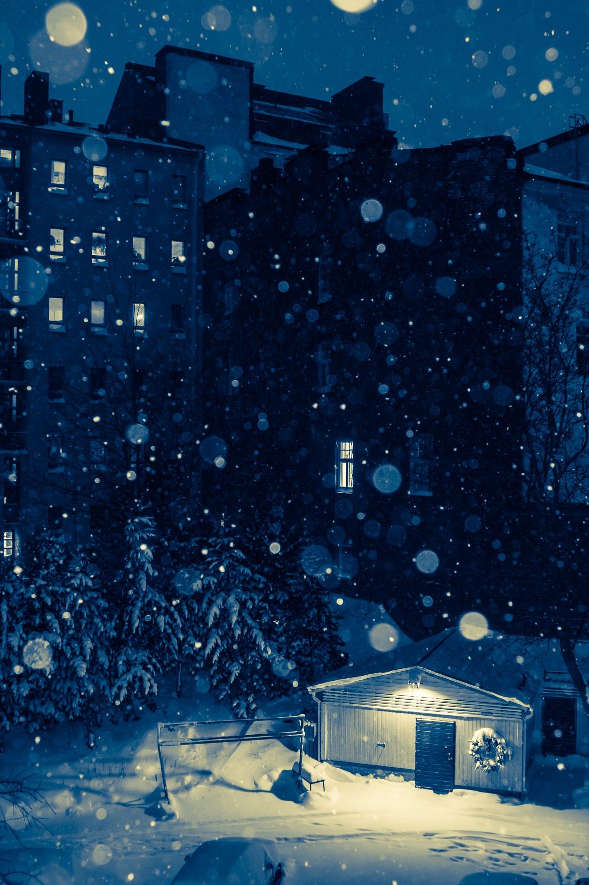 無料画像 雪 冬 夜 天気 青 シーズン 図 スクリーンショット