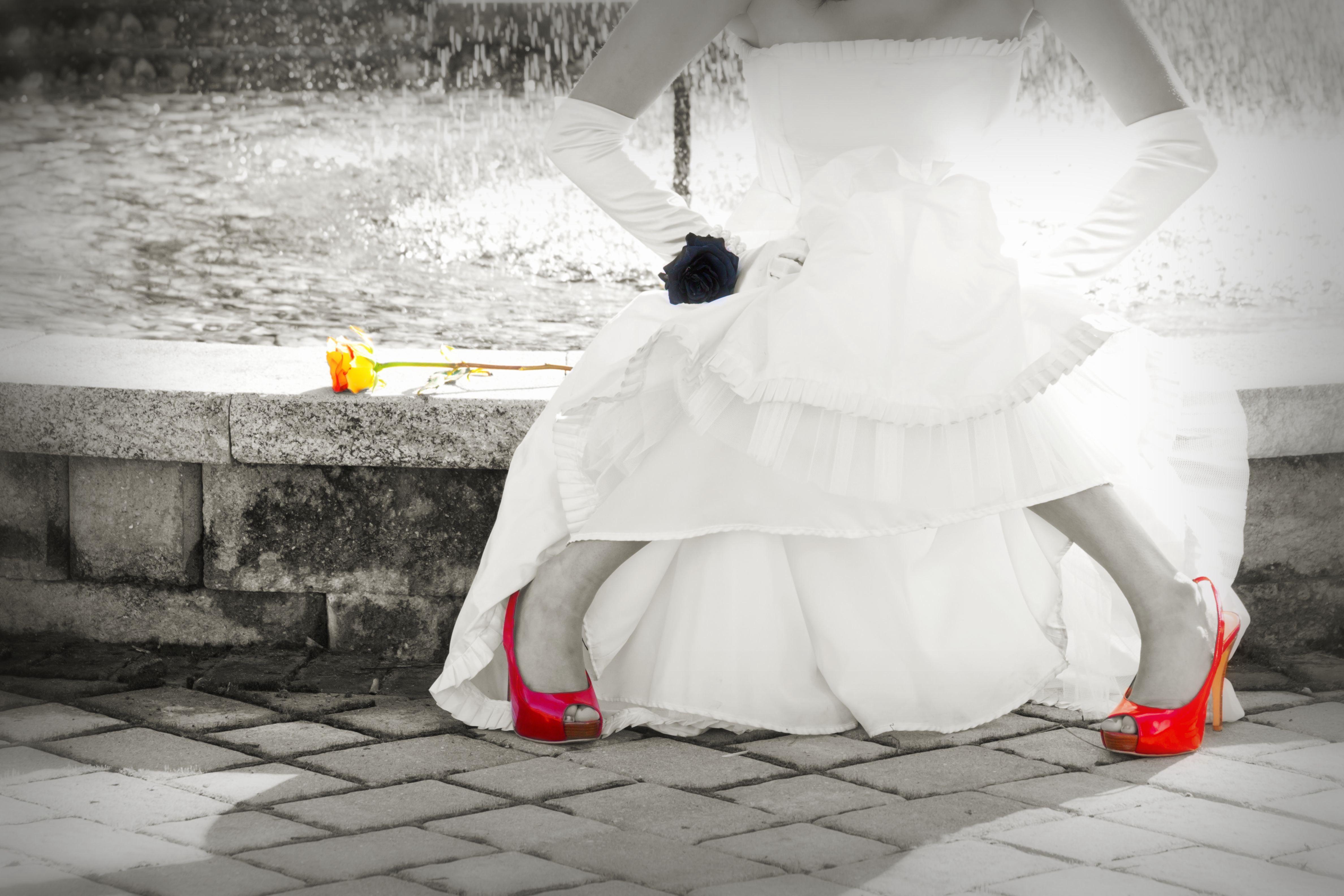 Kostenlose foto : Schnee, Winter, Weiß, Mode, Kleidung, Braut, Kleid ...