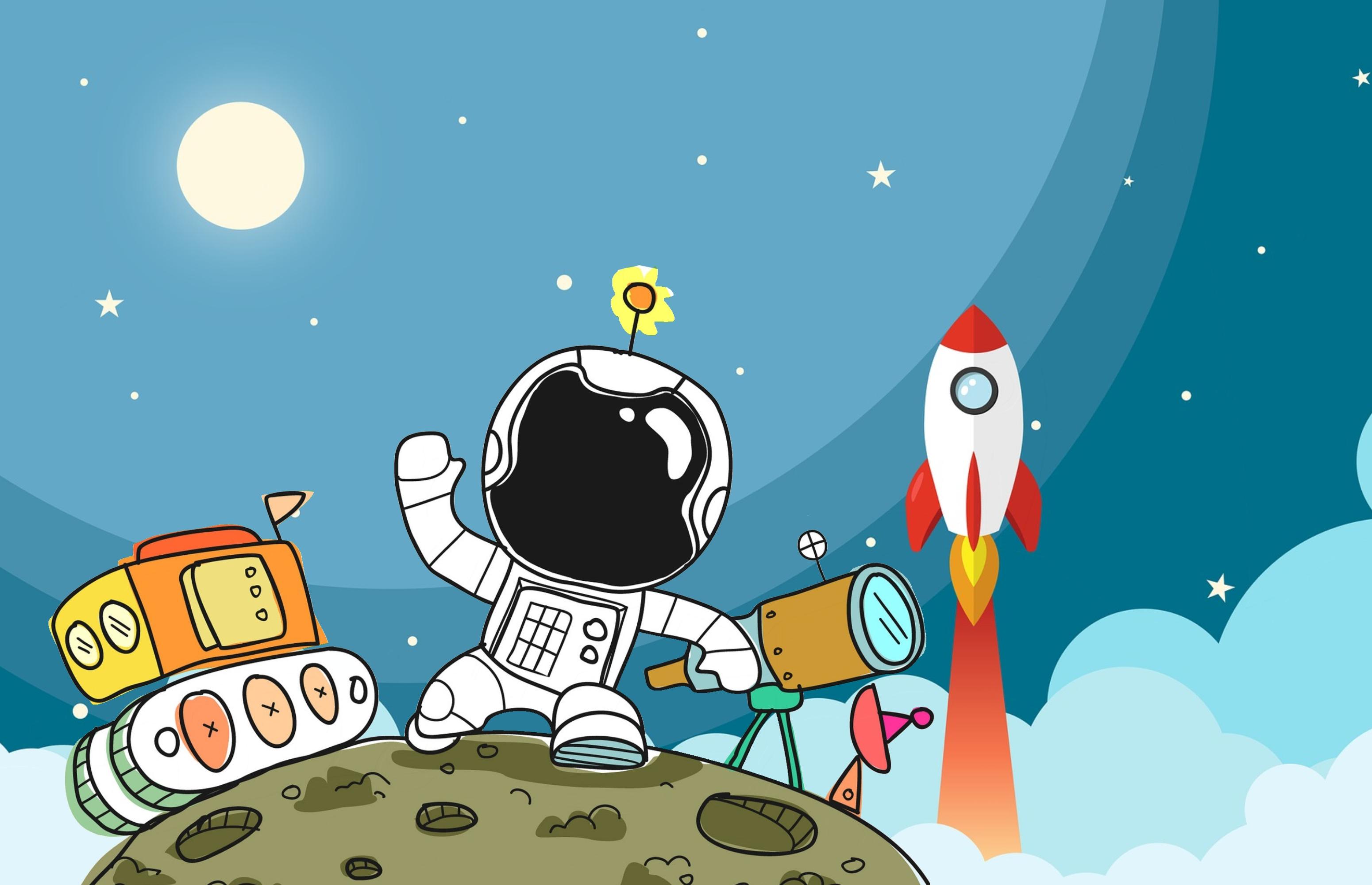 Free Images Spaceman Spaceship Space Astronaut Rocket