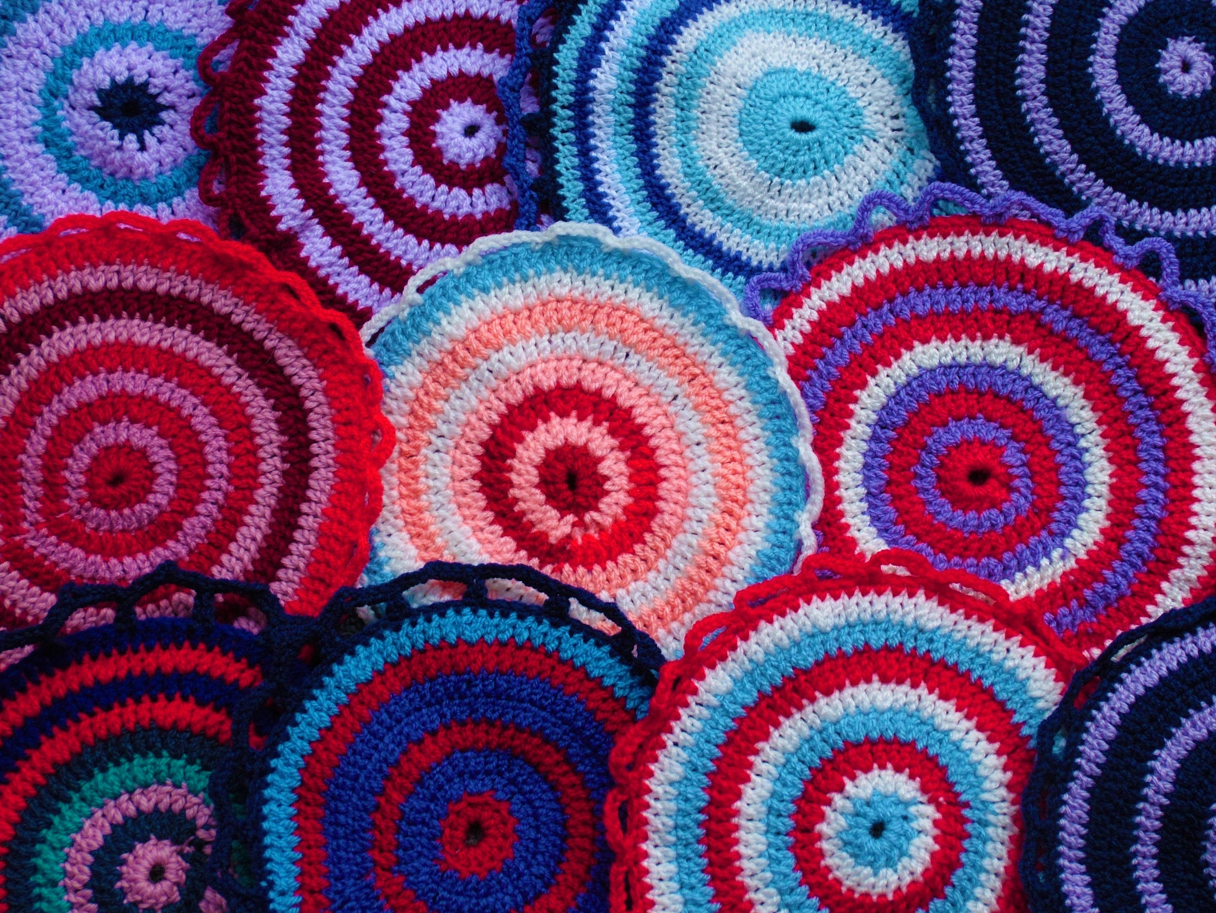 Kostenlose Foto Spiral Muster Kunst Bunt Kreis Häkeln
