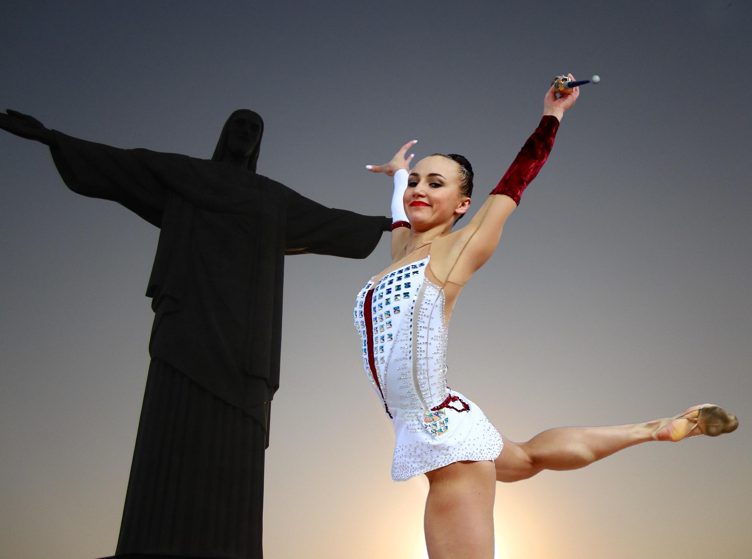 Fotos gratis deporte hembra baile interior rio de for Deportes de gimnasia