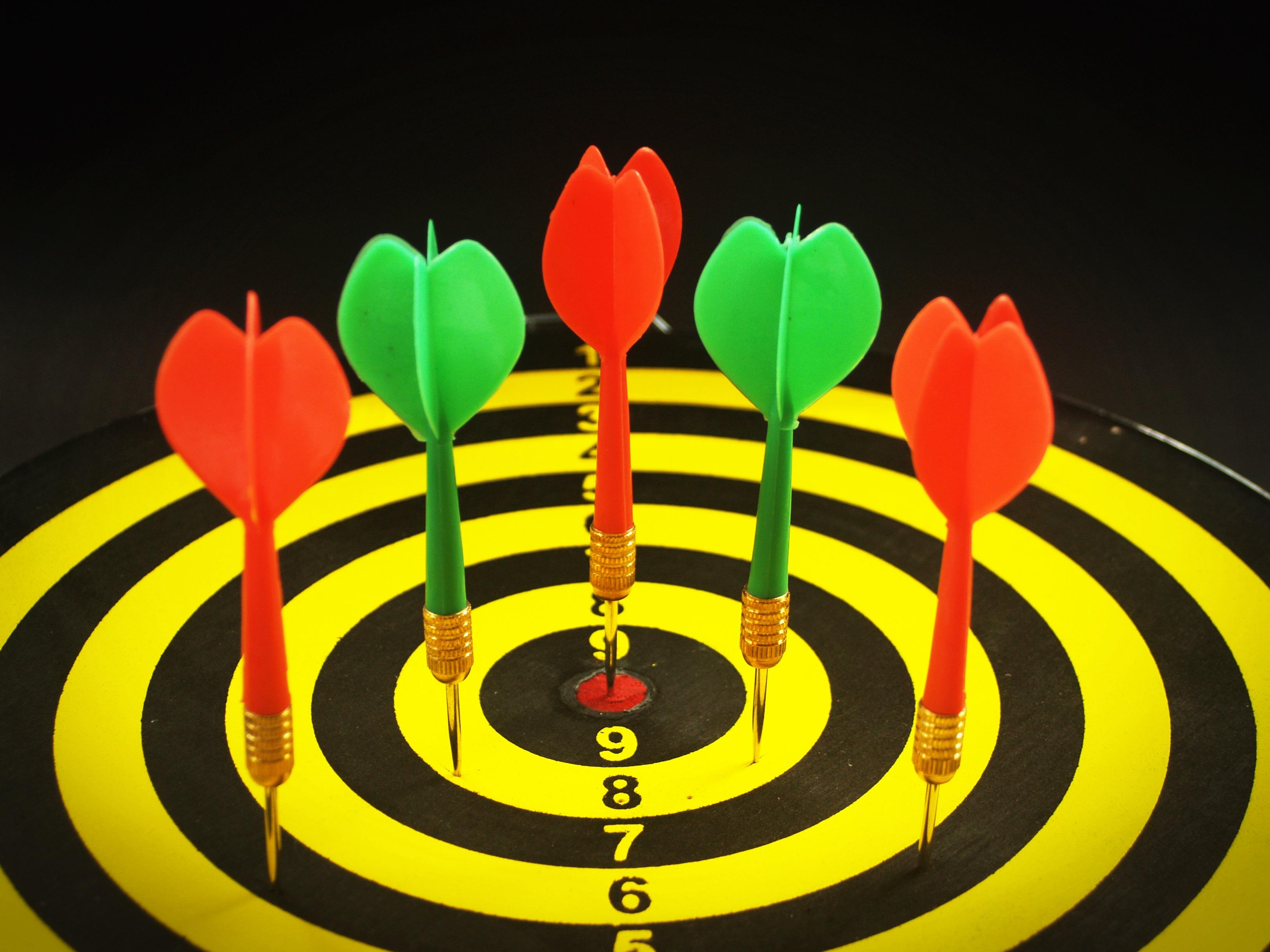 Hình Ảnh : Môn Thể Thao, Trò Chơi, Hoa, Màu Xanh Lá, Đỏ, Màu Vàng, Vòng  Tròn, Vui Vẻ, Hình Minh Họa, Độ Chính Xác, Mục Tiêu, Mục Đích, Phi Tiêu, ...