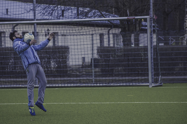 Svart fotbolls Porr