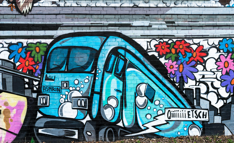 Fotoğraf Sprey Renk Duvar Yazısı Sokak Sanatı Yaratıcılık