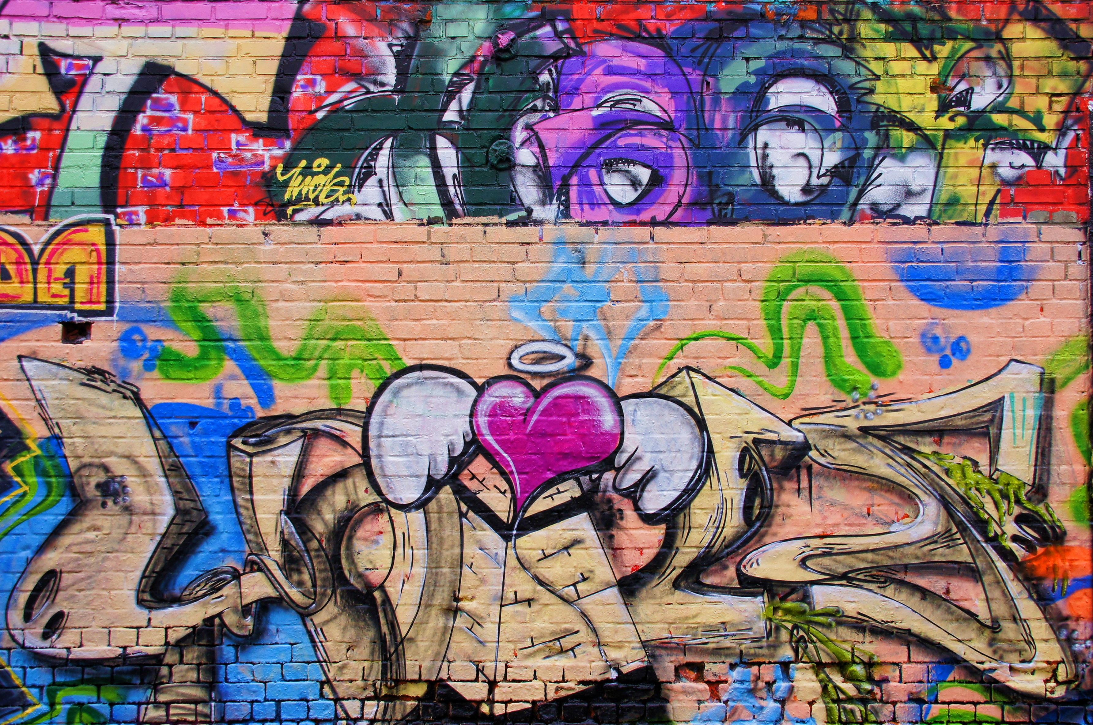 Free Images Spray Graffiti Street Art Mural Leipzig Wall