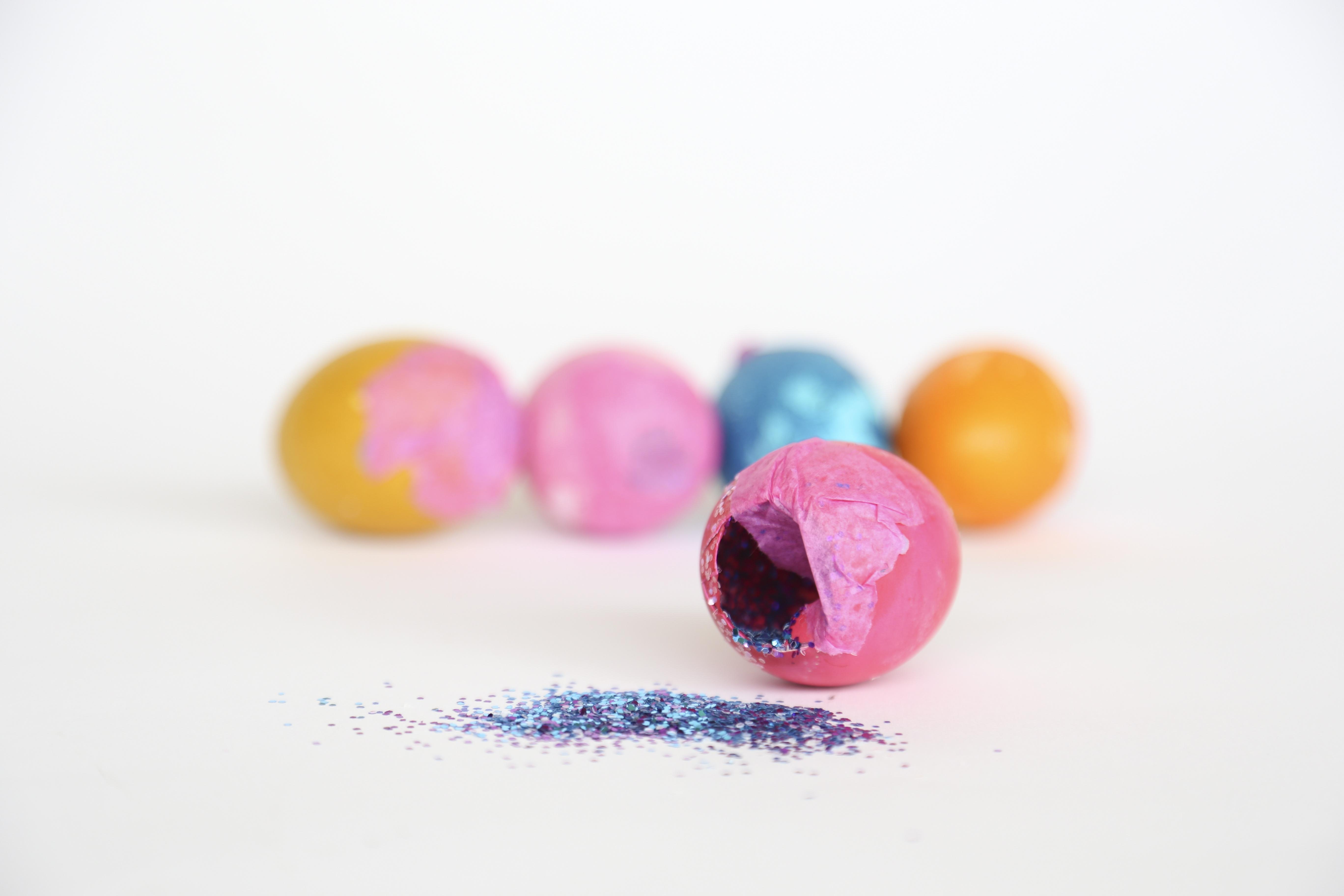 Kostenlose foto : Frühling, funkeln, Nahansicht, Konfetti, Eier ...