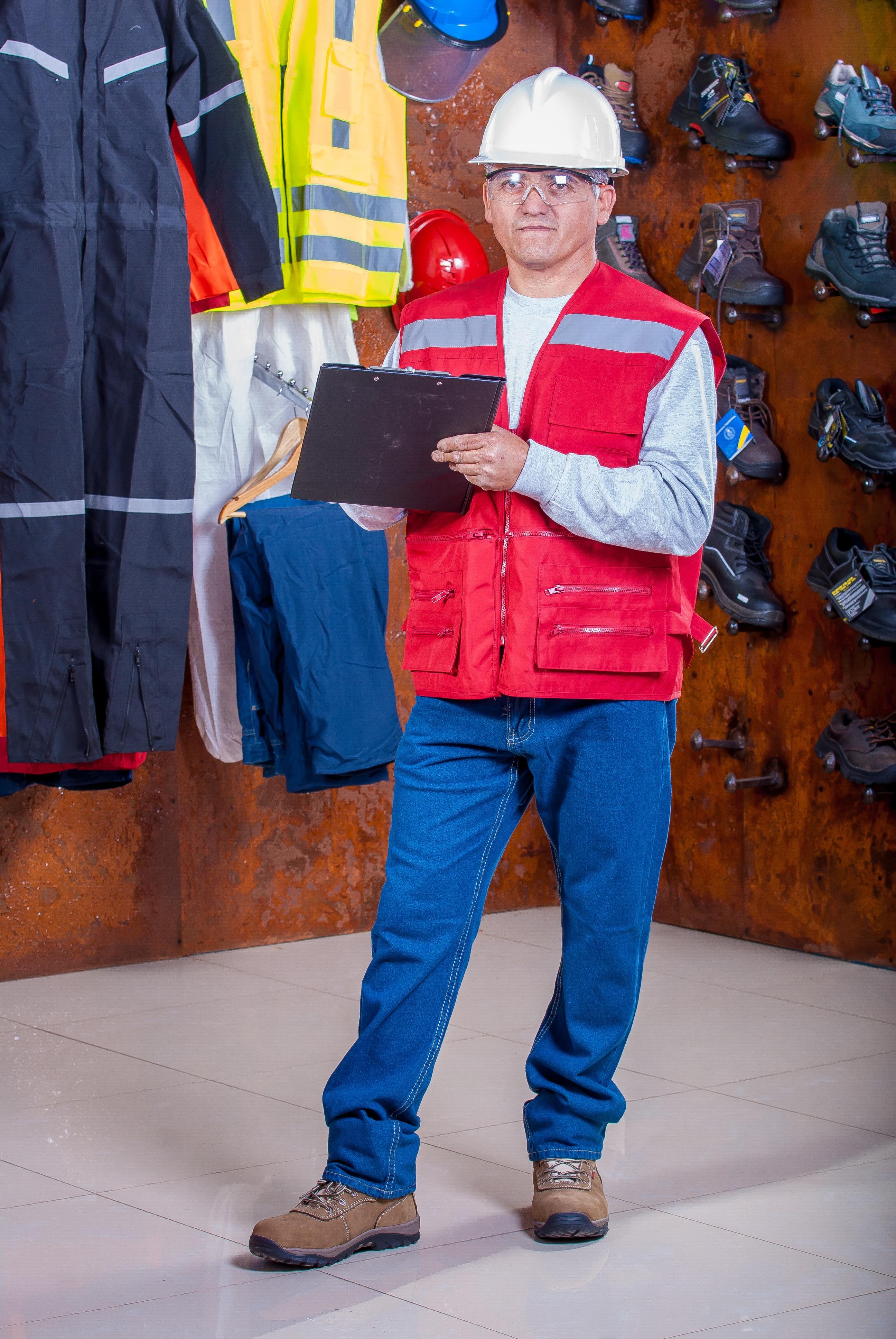b216321b vår industriell mote klær sikkerhet sko arbeider hjelm produserer drakt  Vest veileder personlig verneutstyr logis arbeidsklær