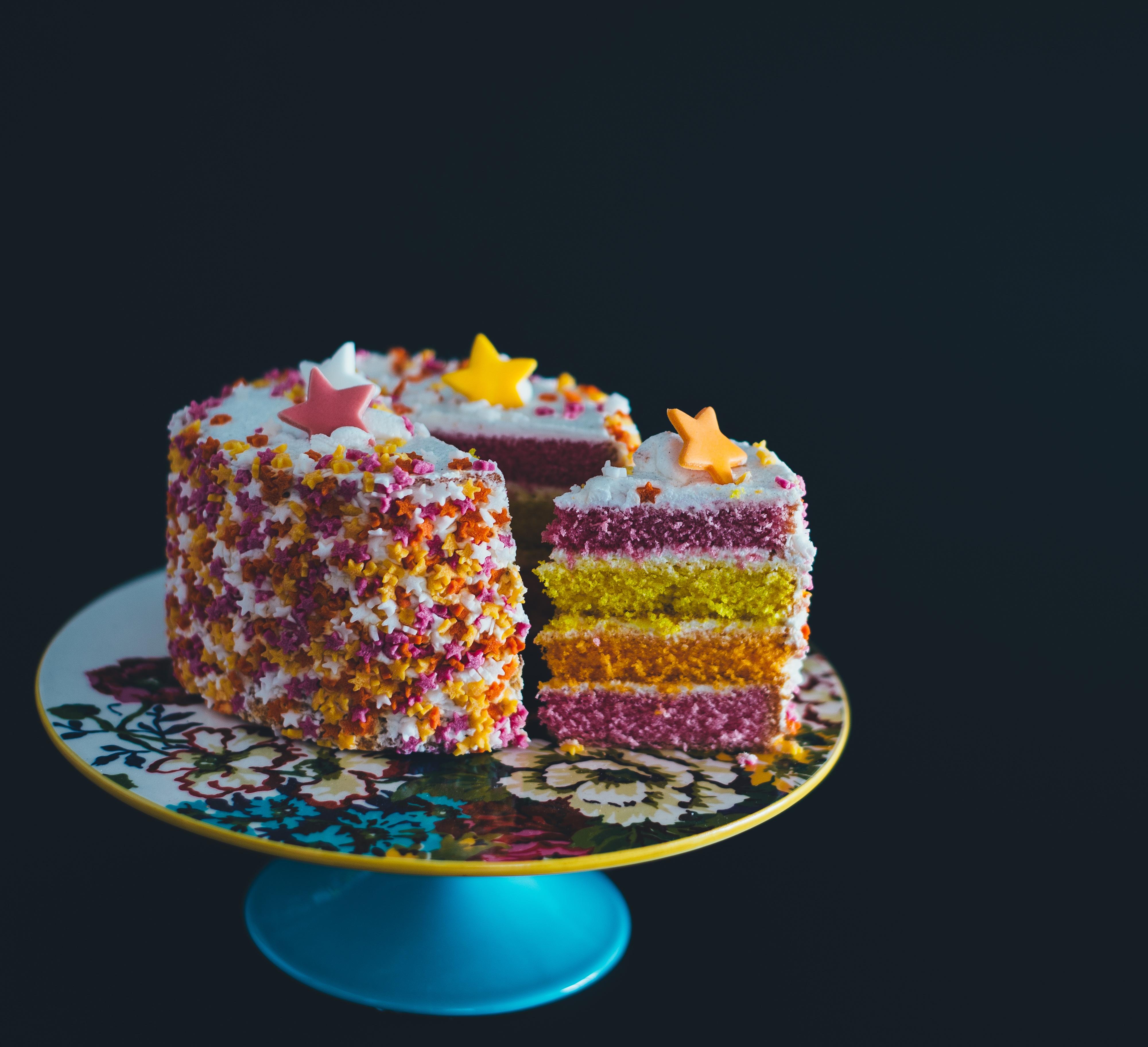 Gratis Afbeeldingen Ster Eten Nagerecht Cake Verjaardagstaart