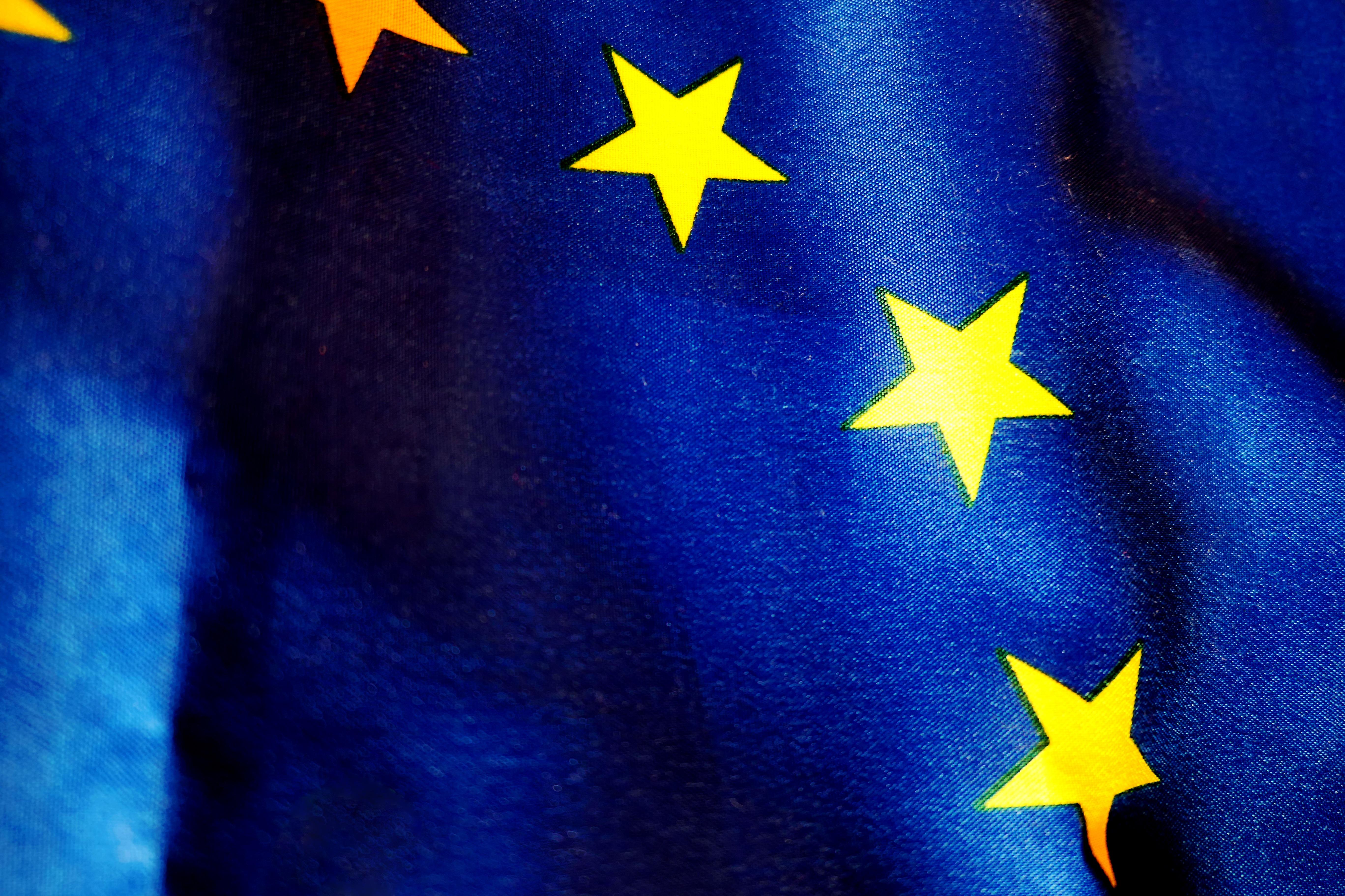 Gambar Bintang Angin Eropah Warna Spanduk Kegelapan Biru