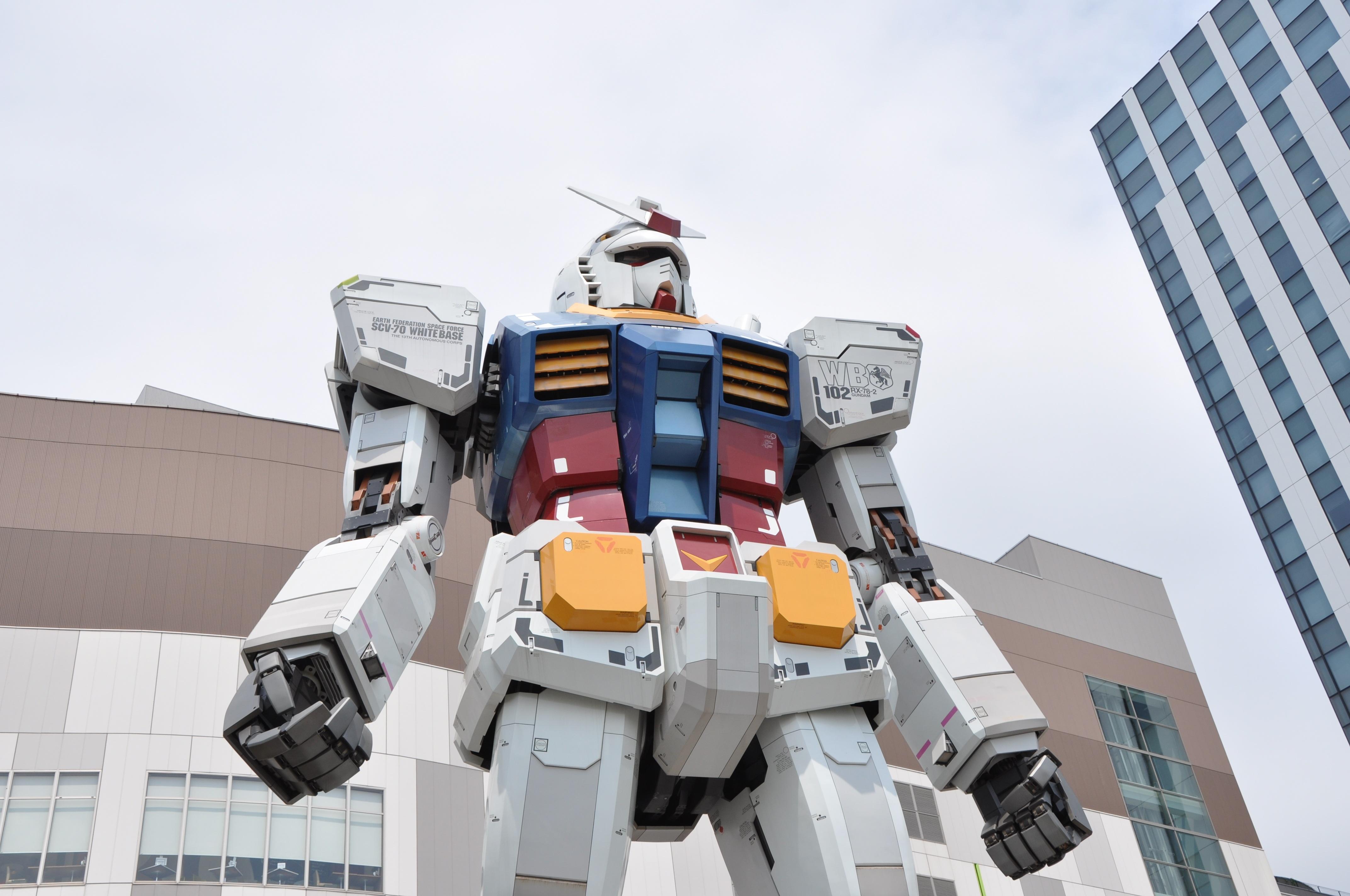Free Images : statue, machine, toy, lego, robot, odaiba