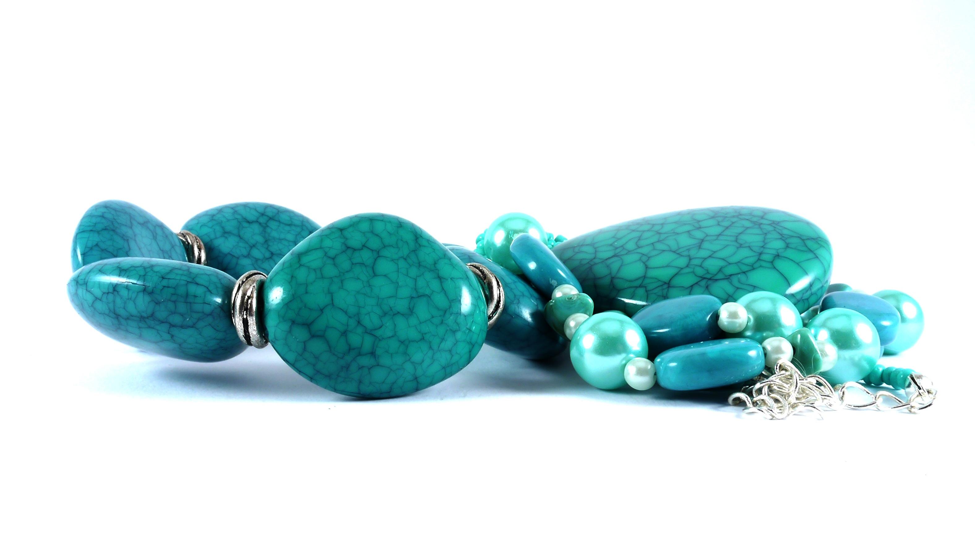 Fotos gratis moda tal n joyer a collar pulsera for Piedra preciosa turquesa