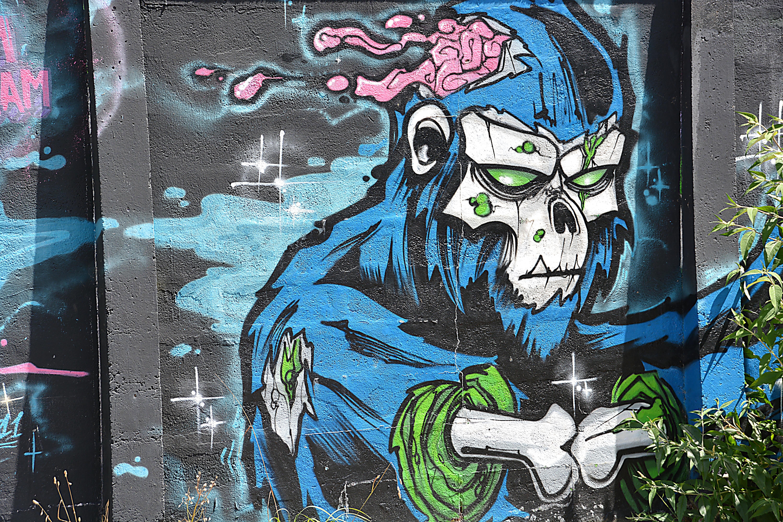Grafitti wall painting - Street City Urban Graffiti Painting Street Art Art Illustration Walls Mural Fresco Wall Art Painted Walls