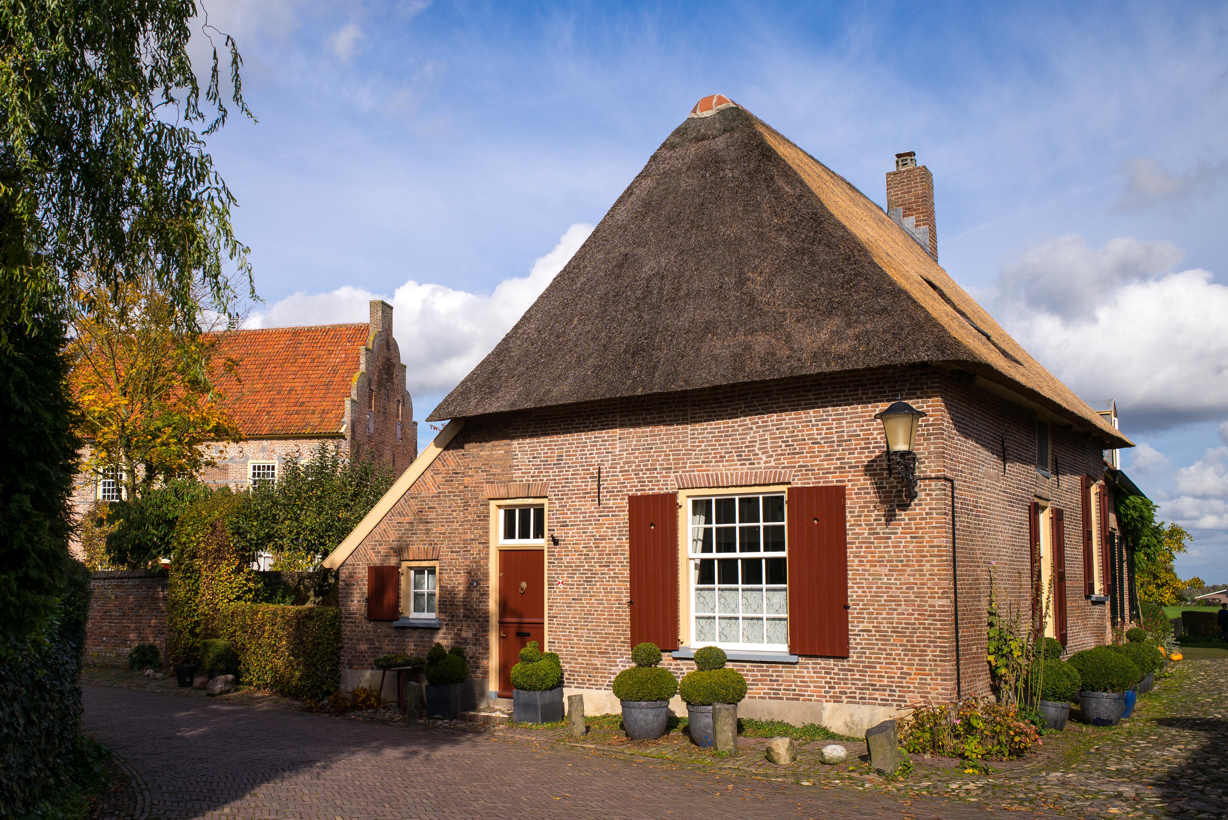 роторные деревенские дома в прибалтике фото этом сама