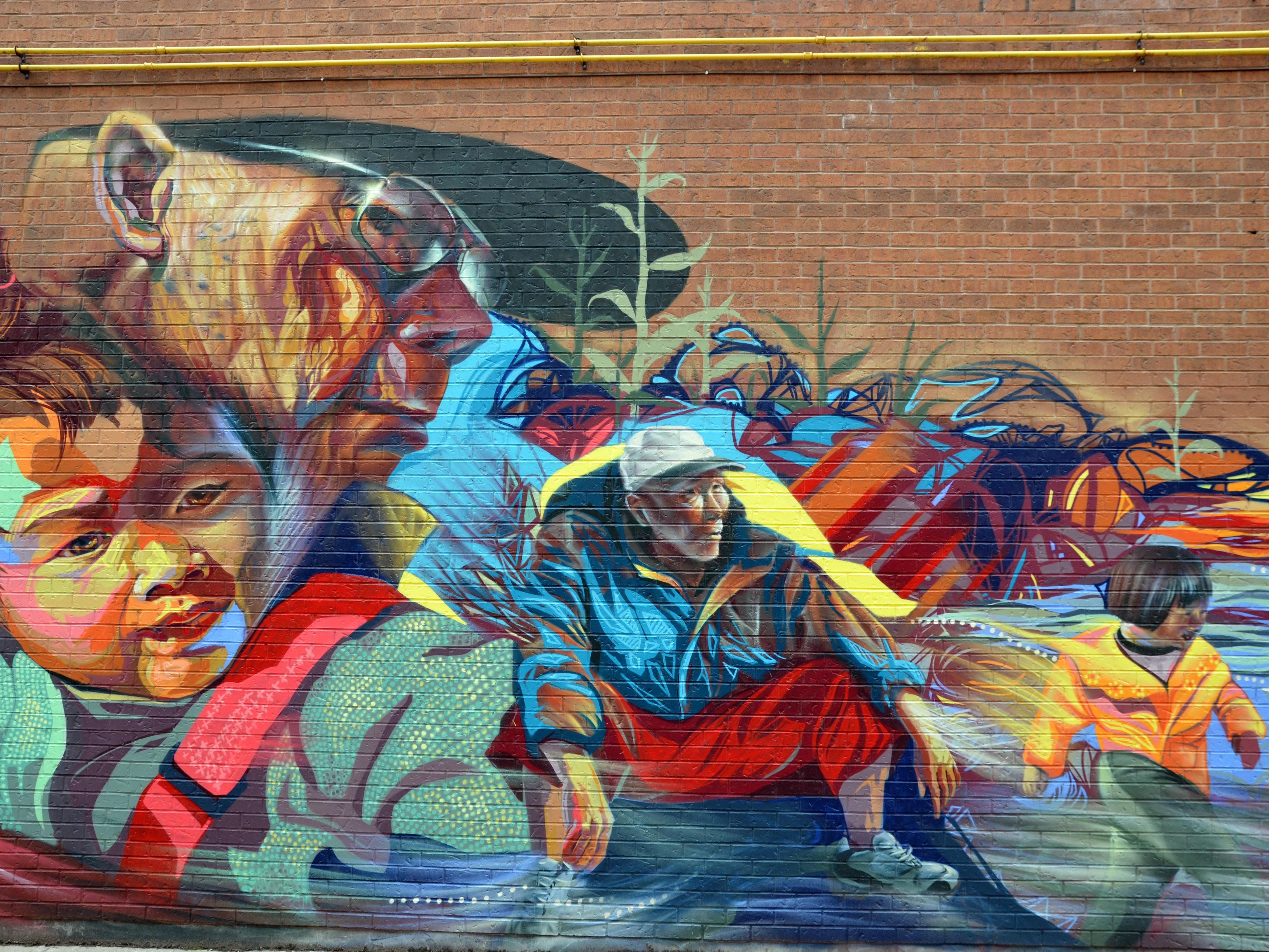 Fotoğraf Sokak Duvar Yazısı Boyama Illüstrasyon Kültür Yaşlı