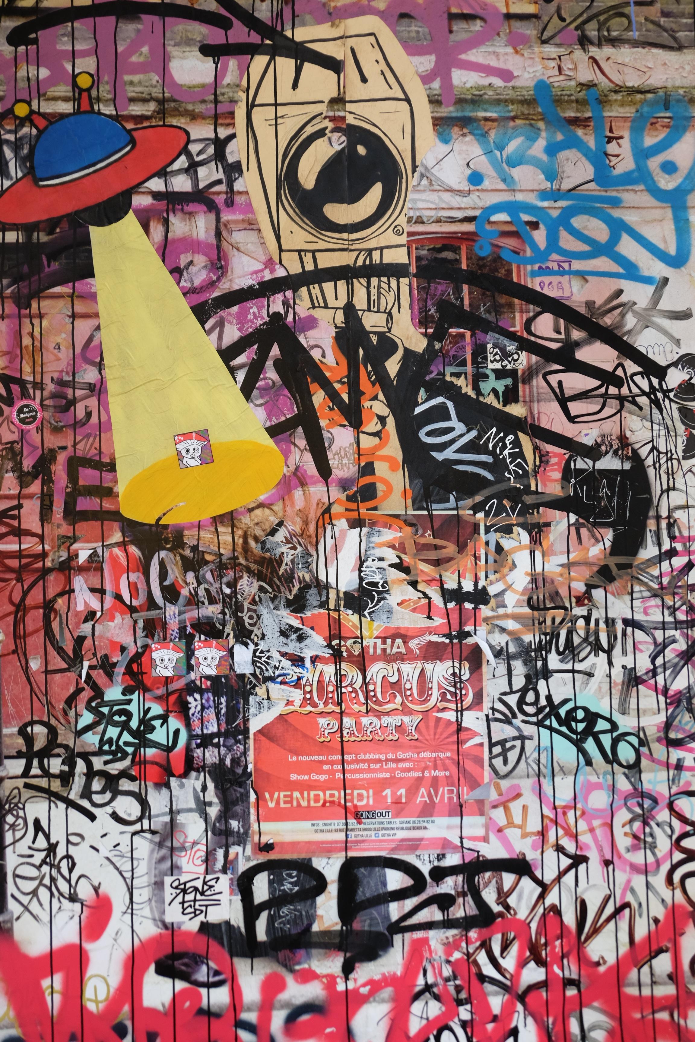 Images Gratuites : graffiti, art de rue, illustration, collage ...