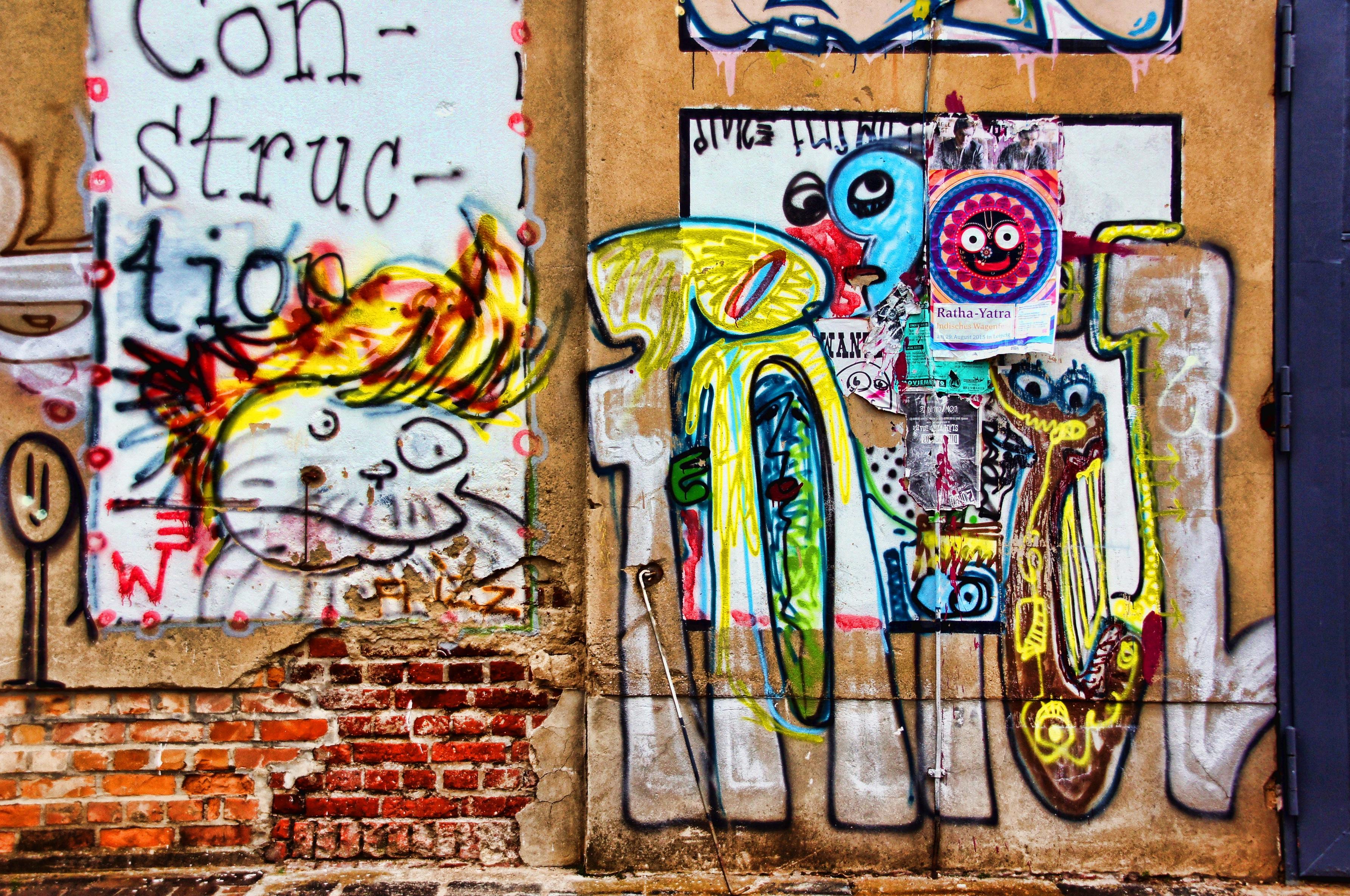 Graffiti wall painting - Street Window Wall Spray Graffiti Painting Street Art Art Mural Leipzig Wall Painting Sprayer Hauswand Plagwitz