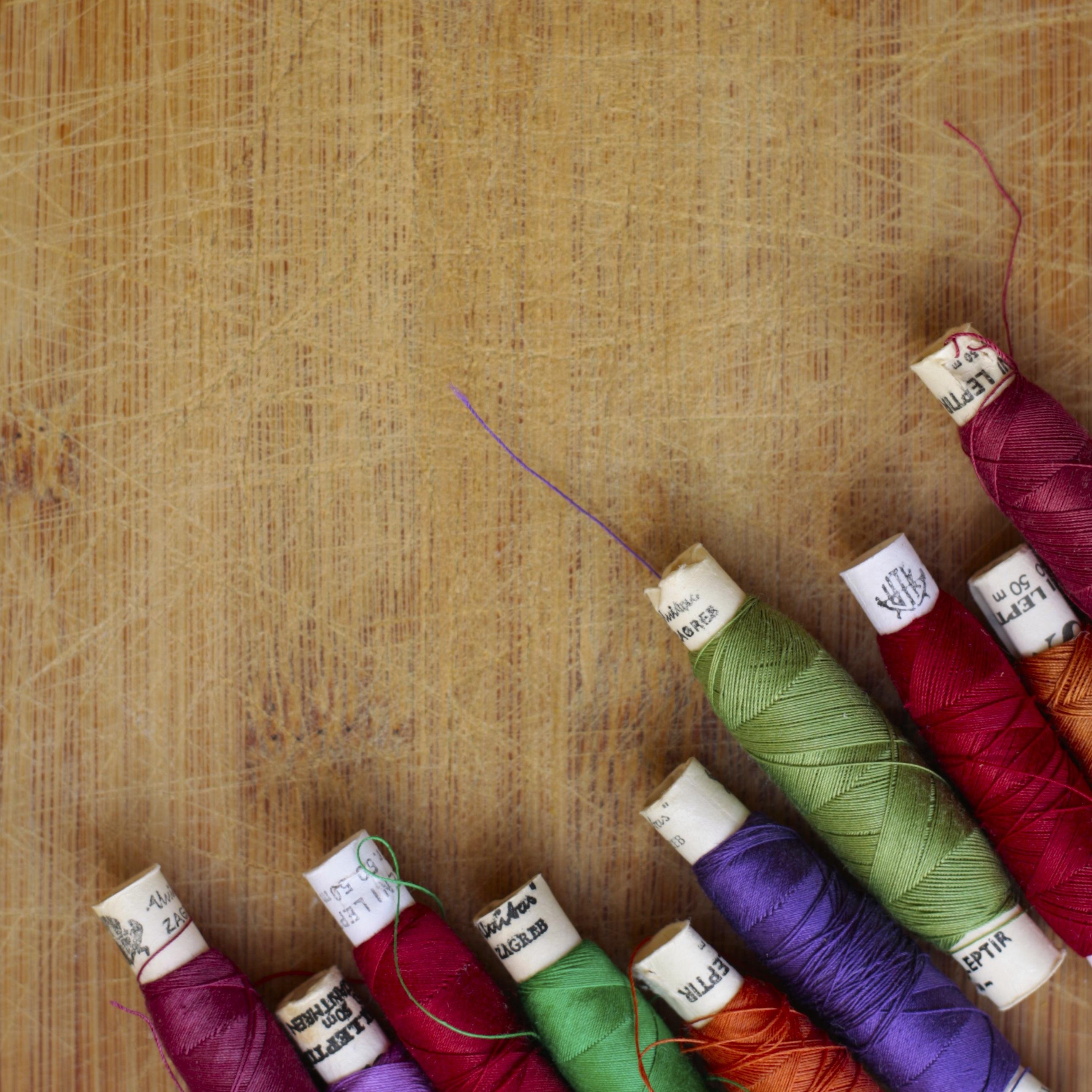 Kostenlose foto : String, Farbe, Kunst, bunt, stricken, schließen ...