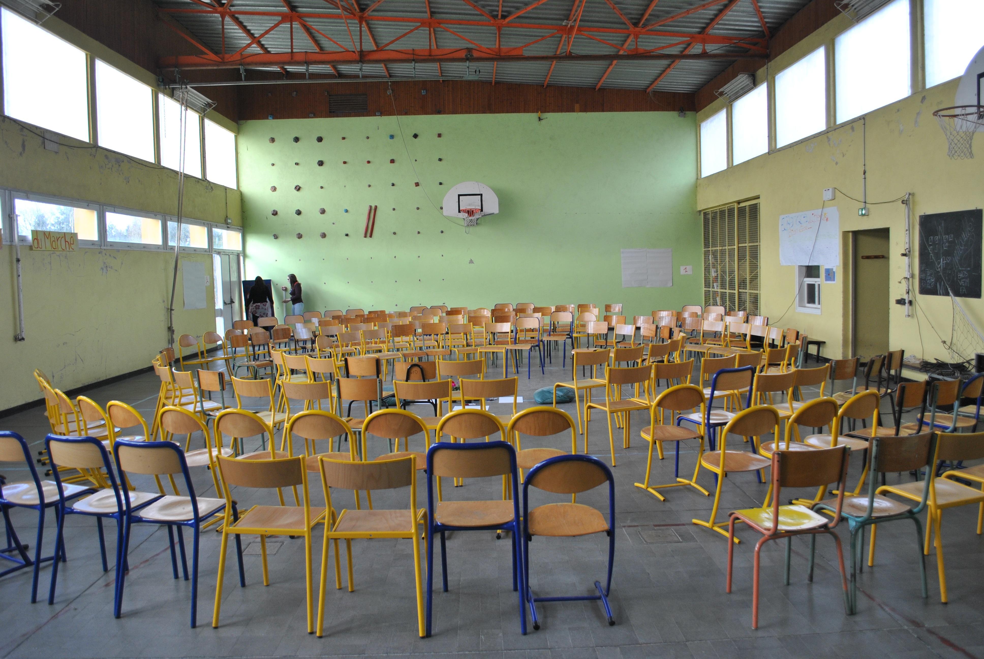 aula gimnasio