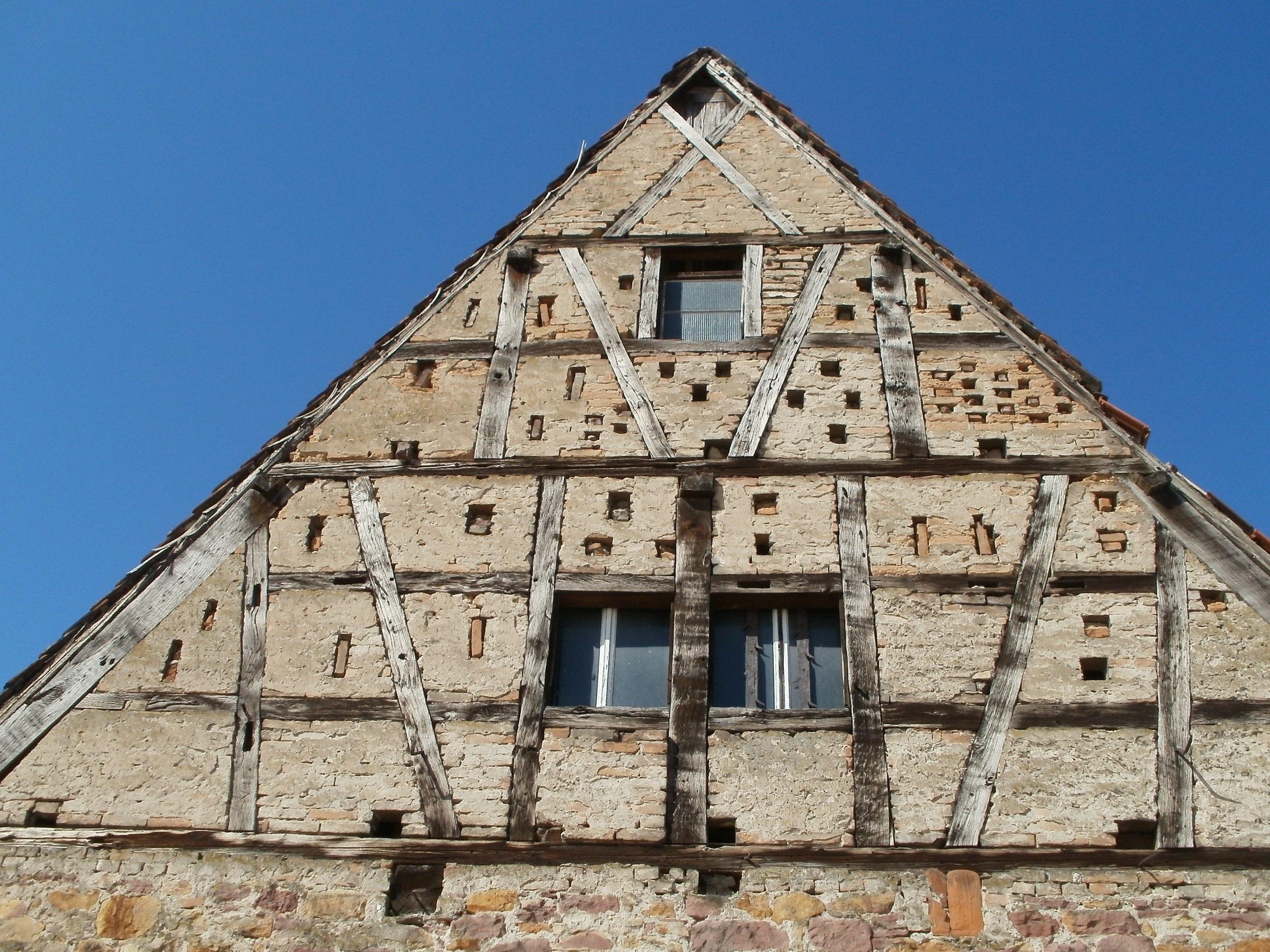 Kostenlose foto : Struktur, Haus, Textur, Stadt, Dach, Gebäude, alt ...