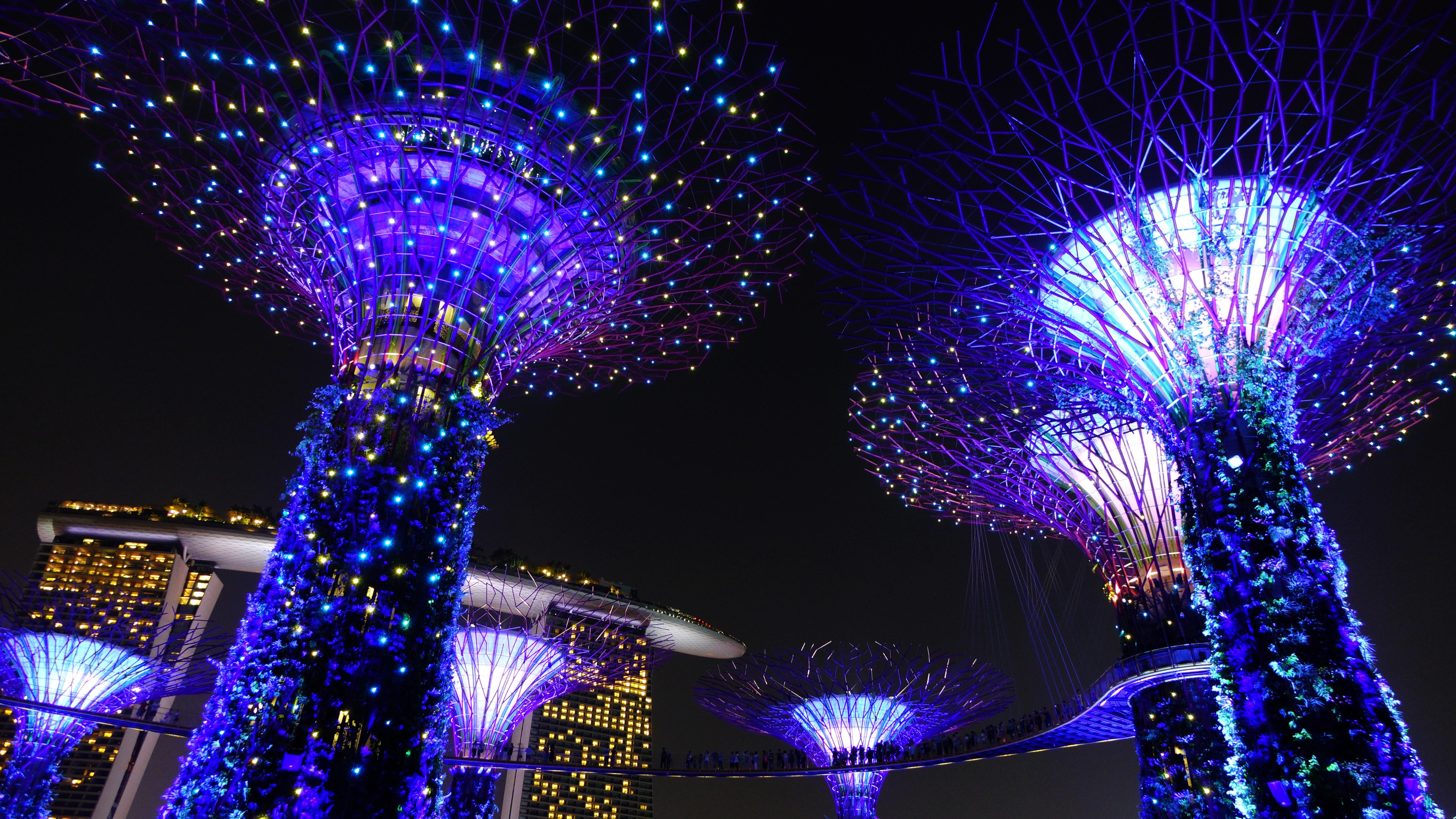 Images Gratuites : structure, nuit, parc, Asie, point de repère ...