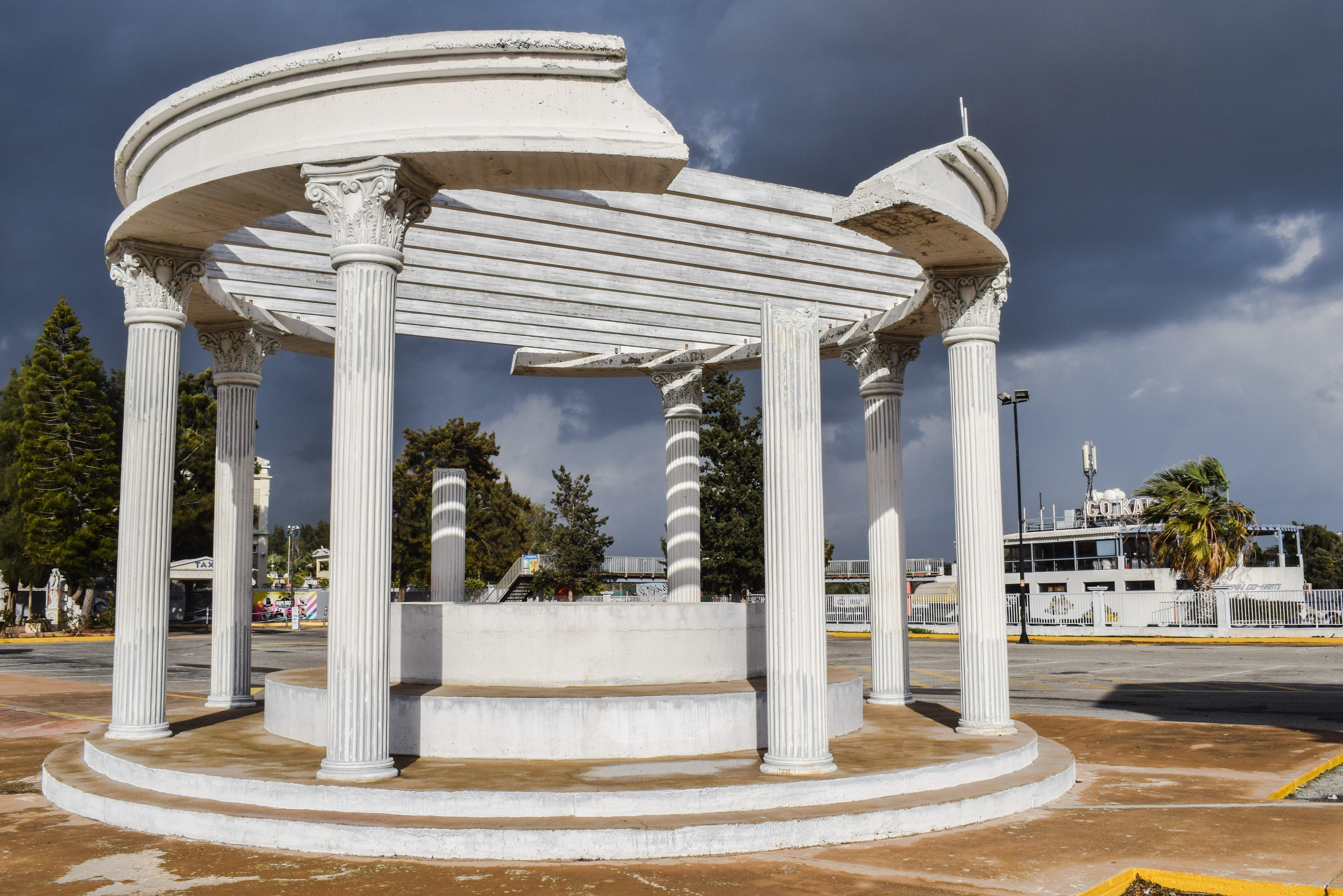 Images gratuites structure ciel pilier colonne grec for Colonne quadrate decorative