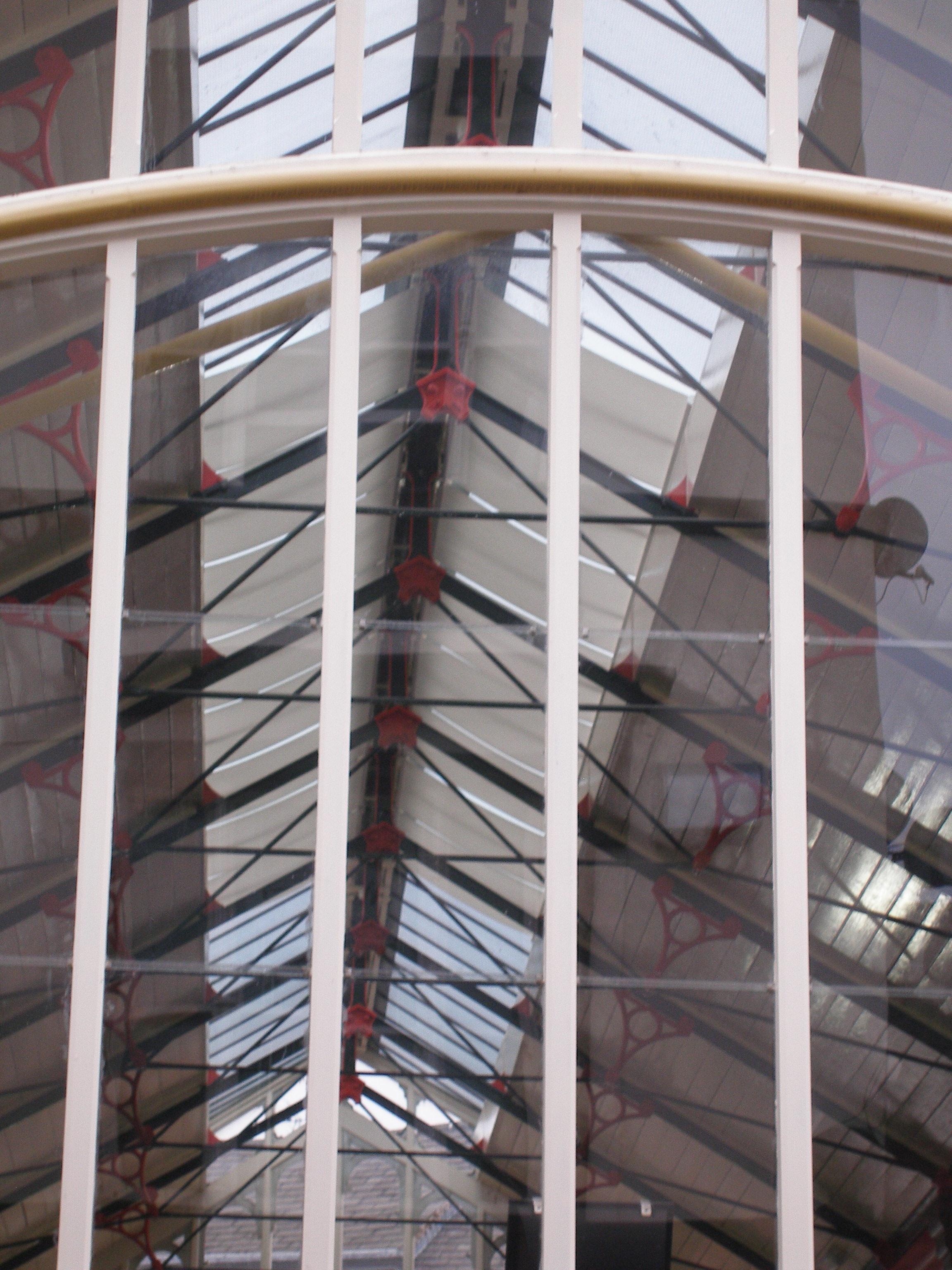 Fotos gratis : estructura, techo, mástil, fachada, escalera, pretil ...