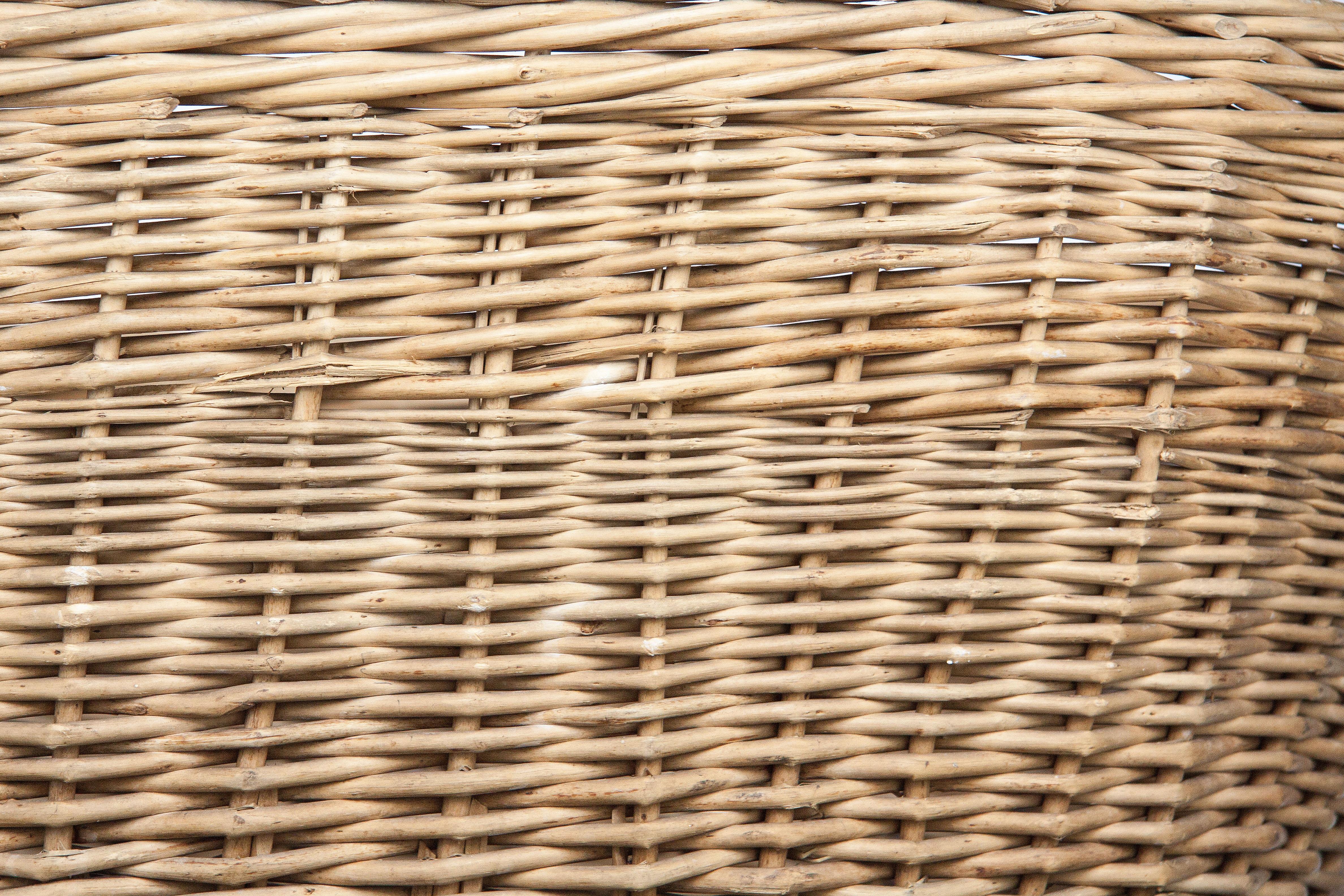 Fotos gratis : estructura, madera, línea, mueble, material, cesta de ...