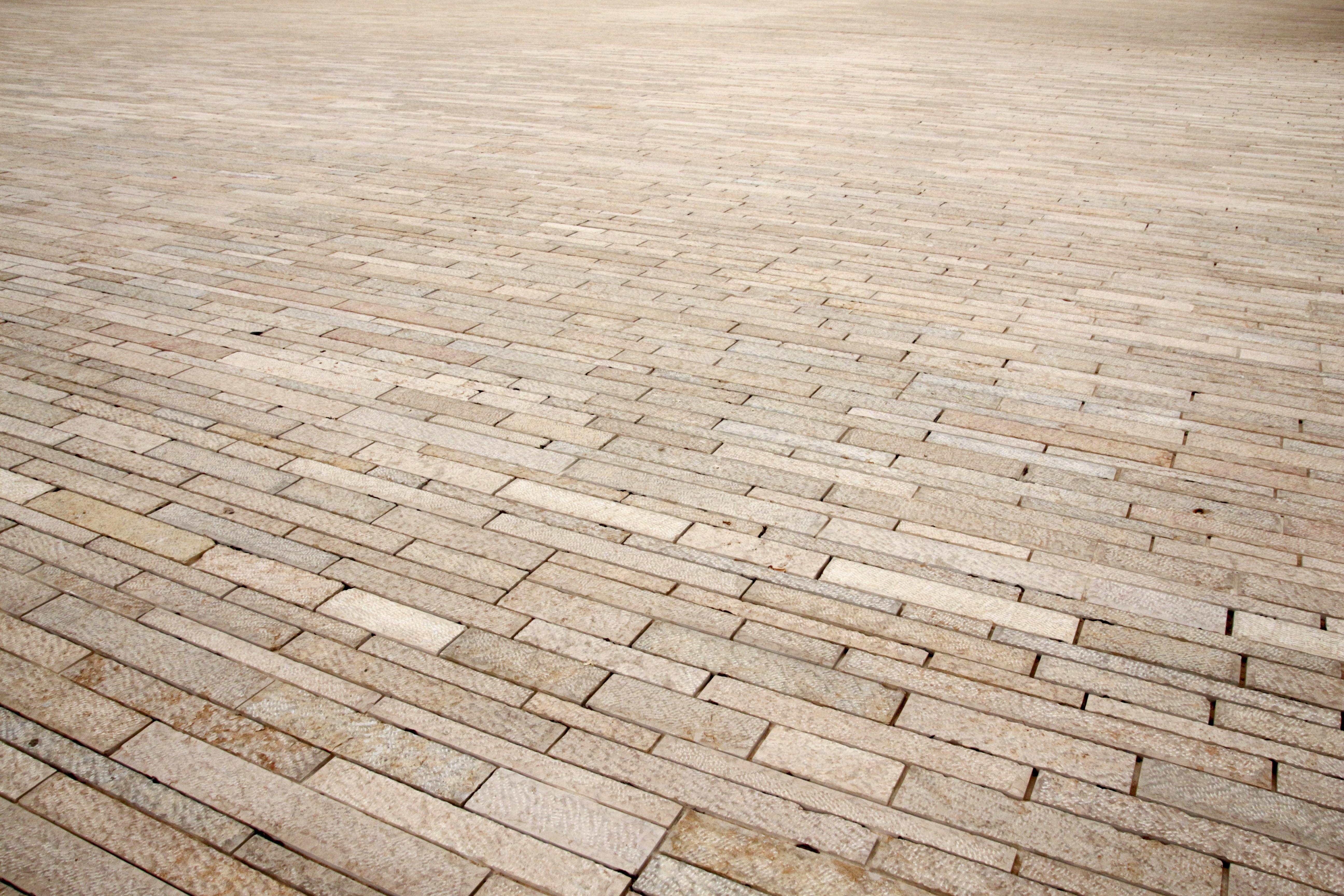 patrn imagen de fondo parche madera dura lejos cubierta adoquines piso de piedra construccin vial suelos