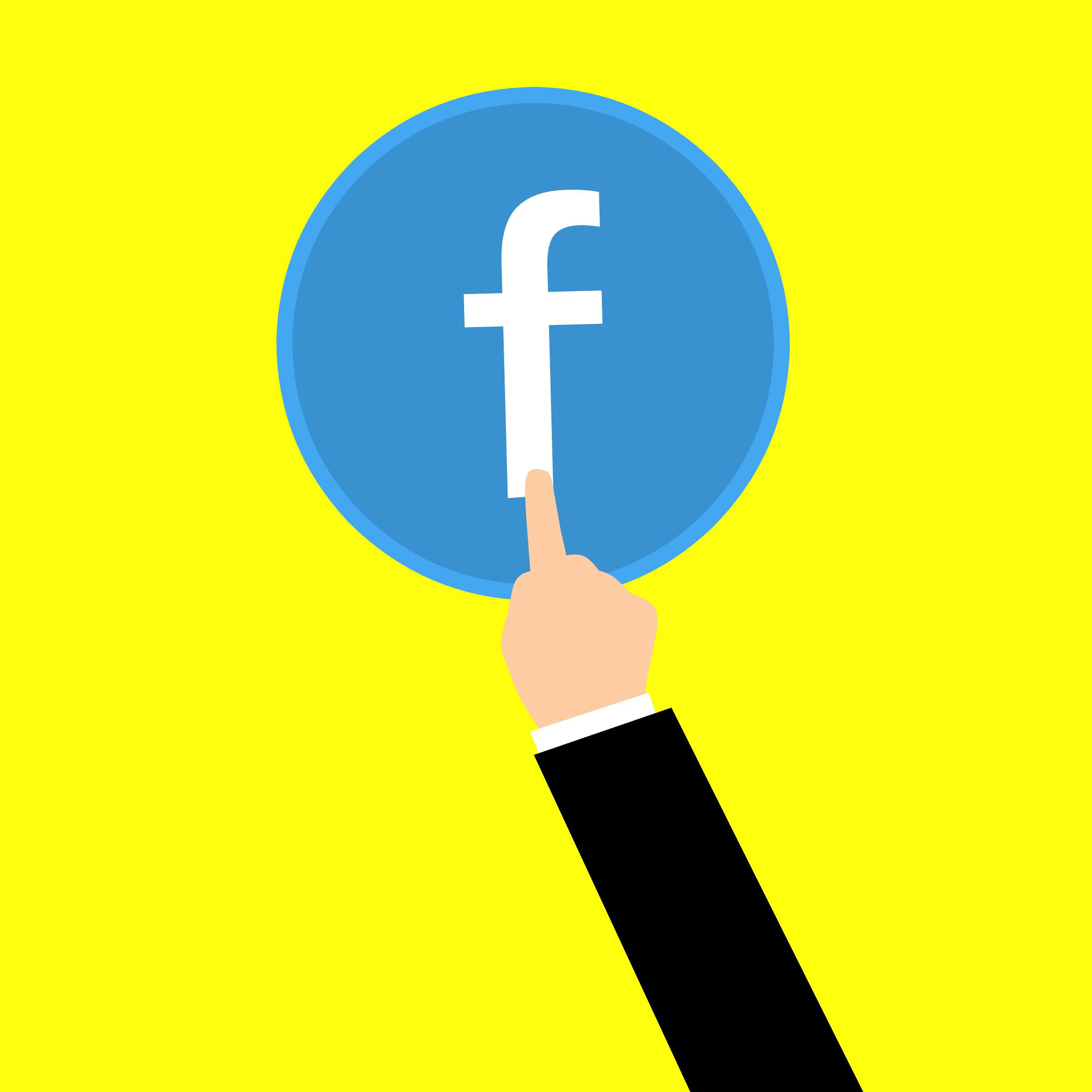 Kostenlose Foto Abonnieren Facebook Konto Adresse Browser