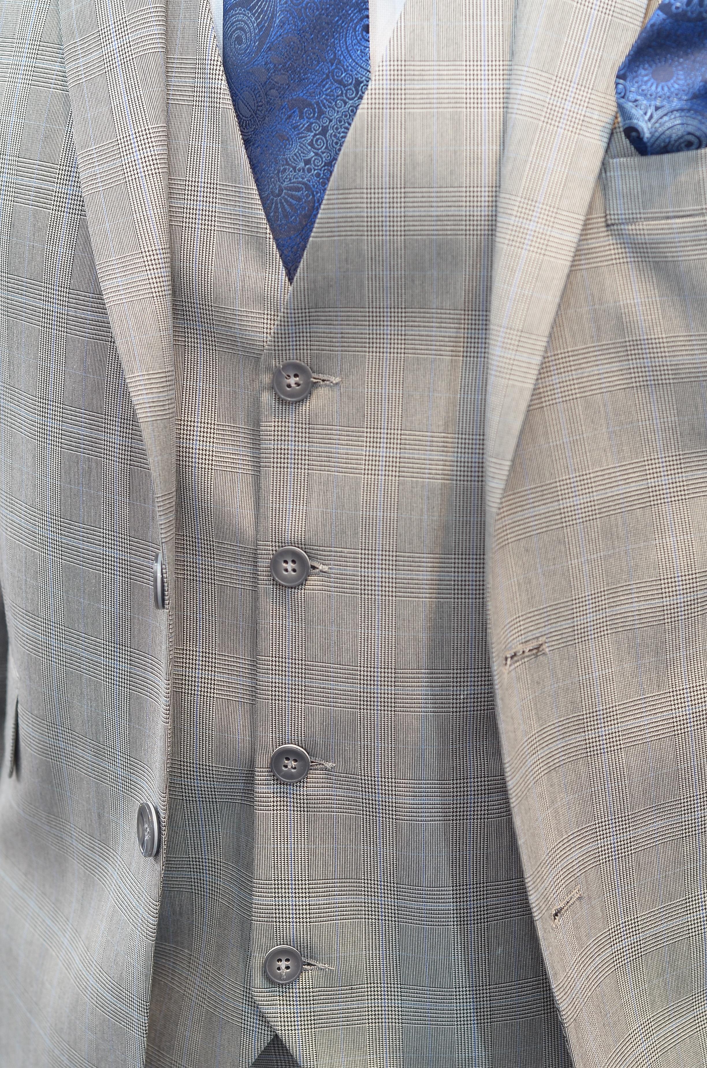 Gambar Sesuai Pola Dasi Jaket Pakaian Luar Tombol Kerah