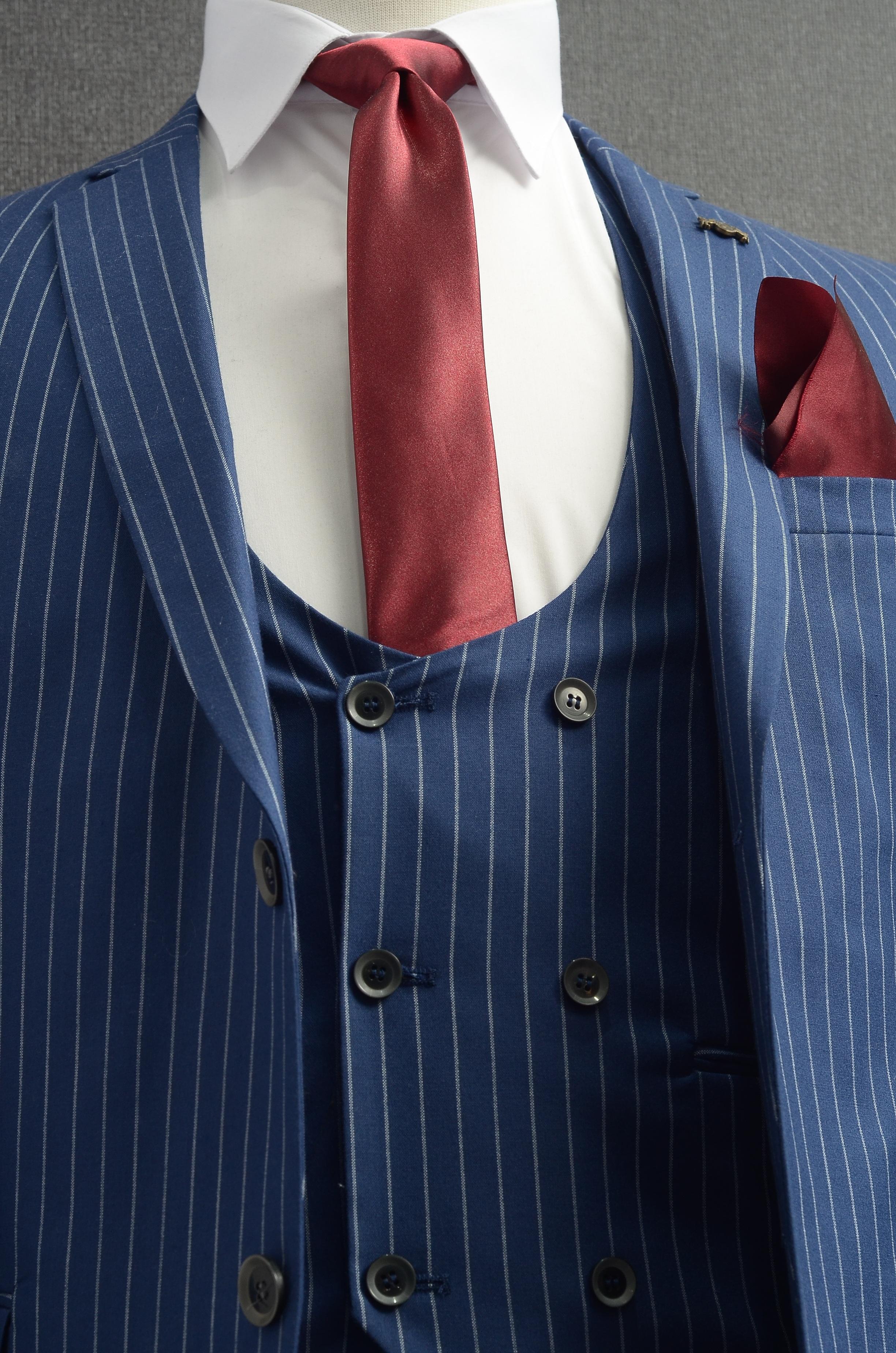 Gambar Sesuai Pola Dasi Kotak Kotak Jaket Pakaian Luar