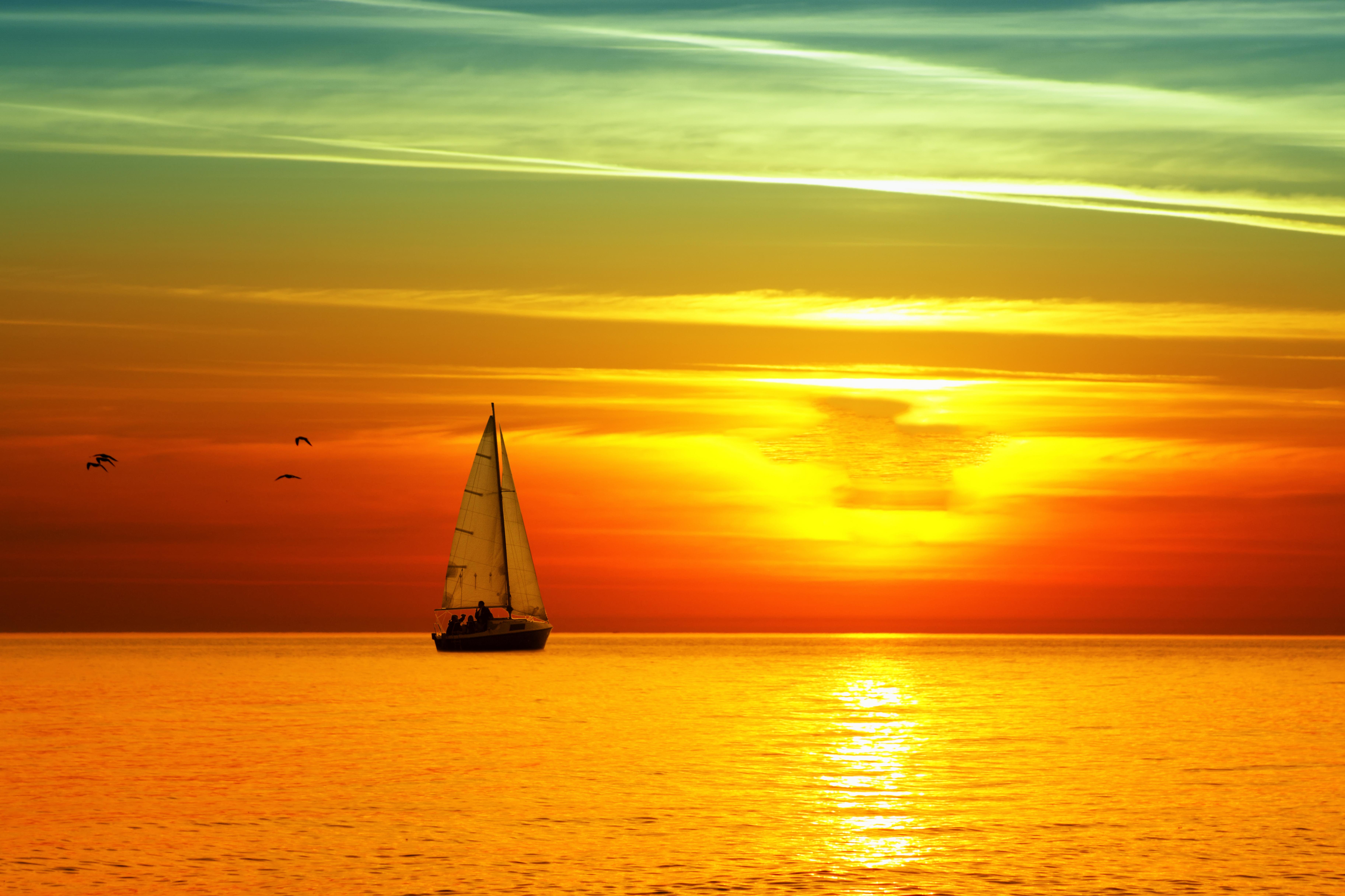Картинка с морем и солнцем, добрым утром девушке