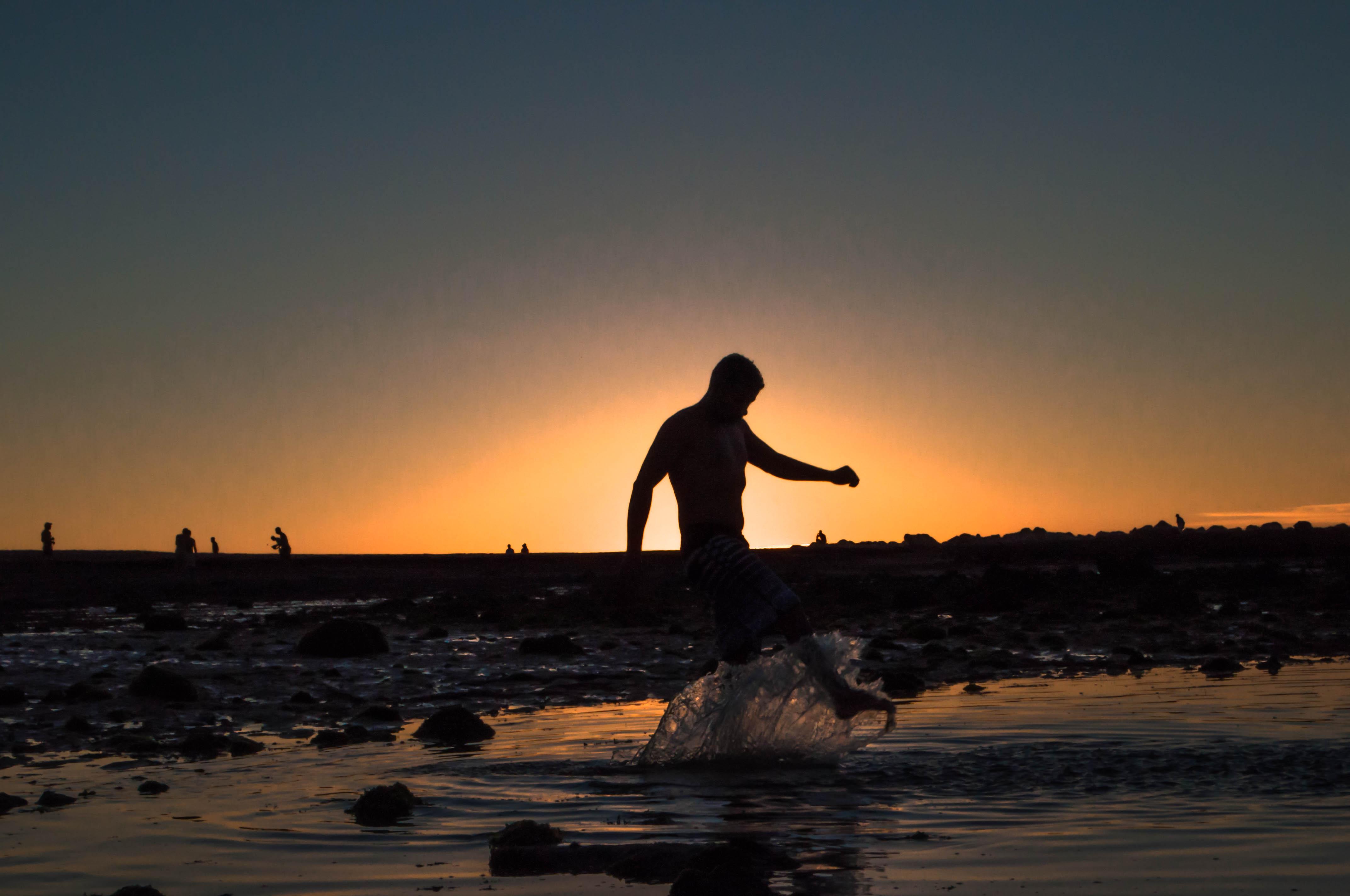 Kostenlose Foto Sonne Gewässer Meer Wasser Himmel