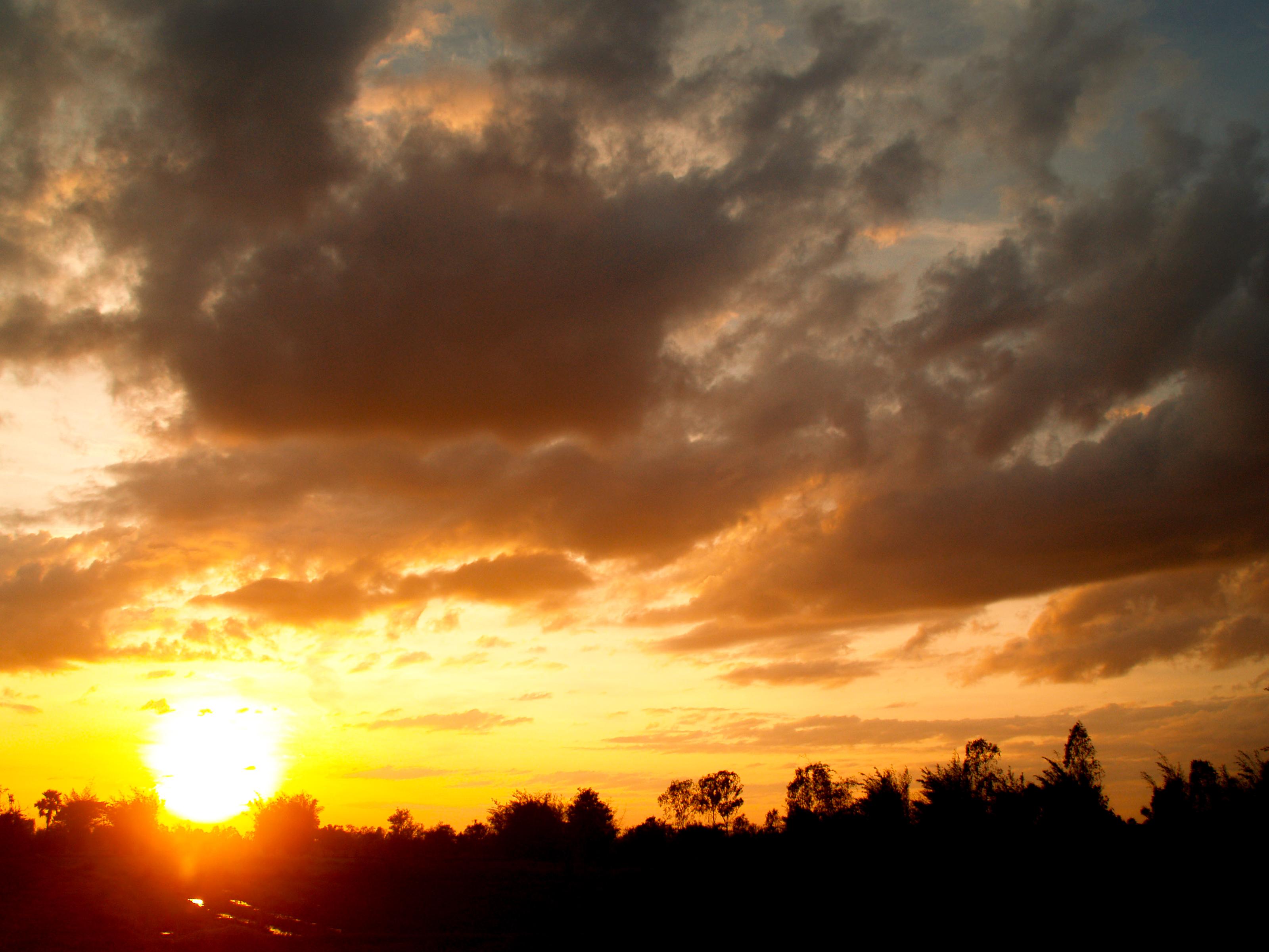 Free Images Sunset Sunrise Nature Sun Beautiful Orange View
