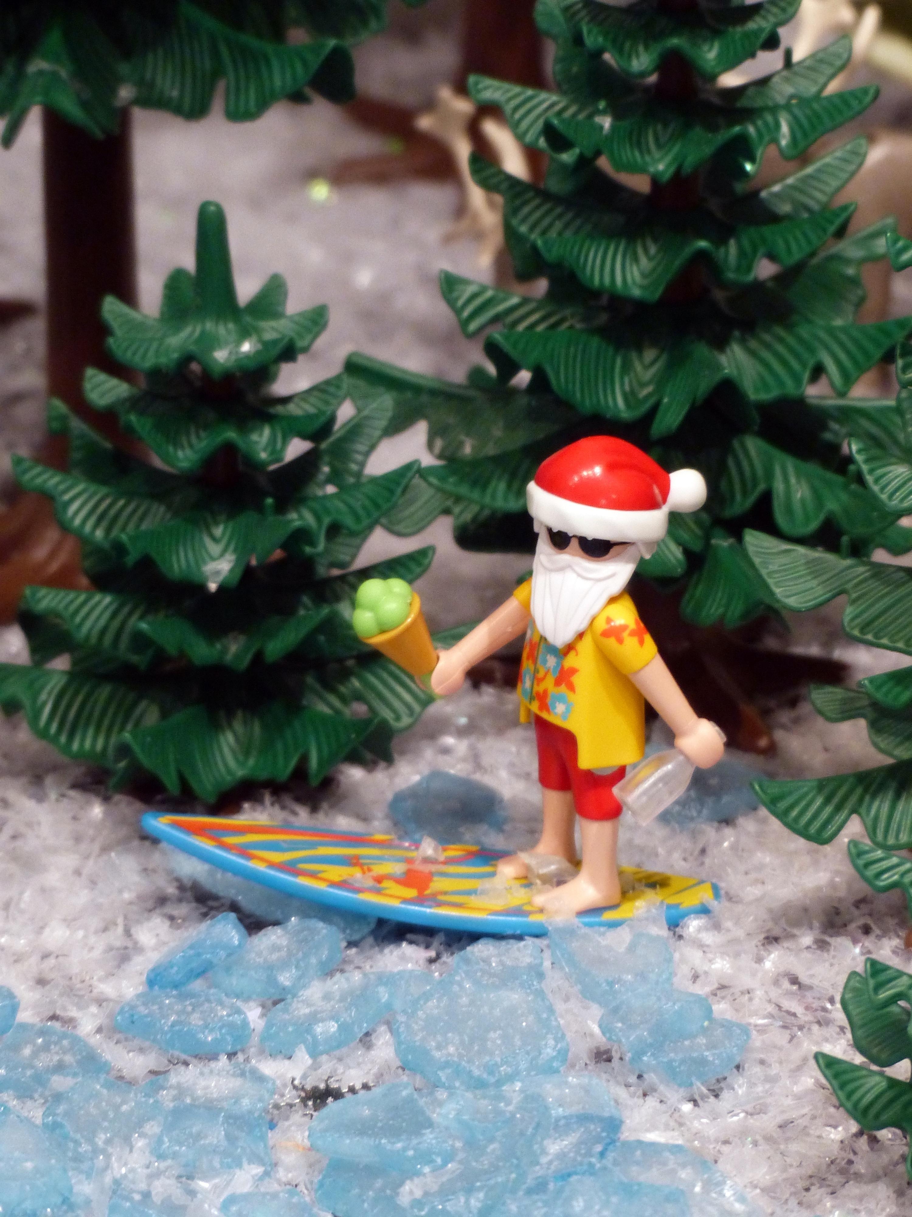 Playmobil Weihnachtsbaum.Kostenlose Foto Surfen Weihnachten Weihnachtsbaum Playmobil