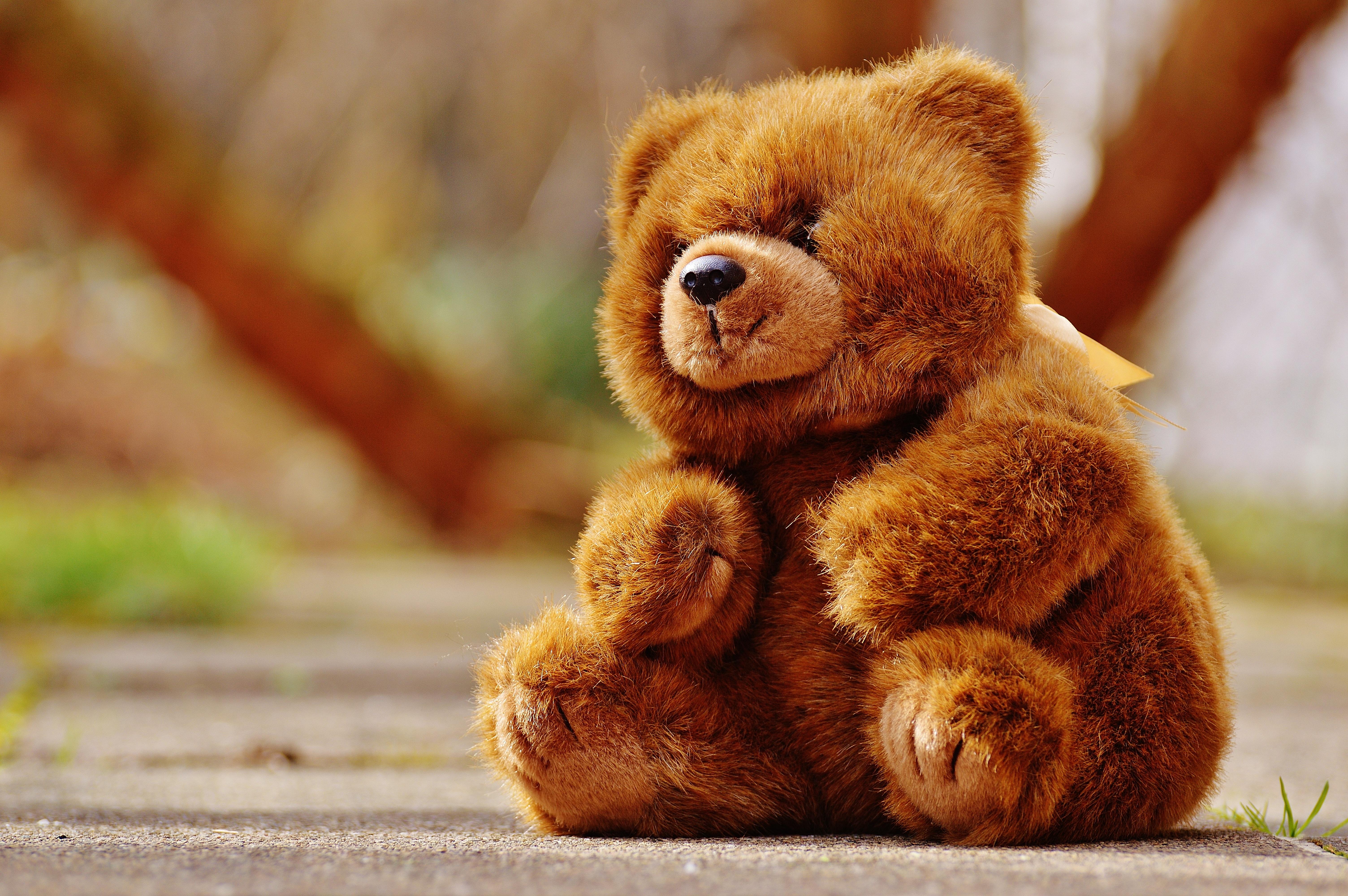 Honey teddy bears in love: crochet pattern - Amigurumi Today Pictures of brown teddy bears