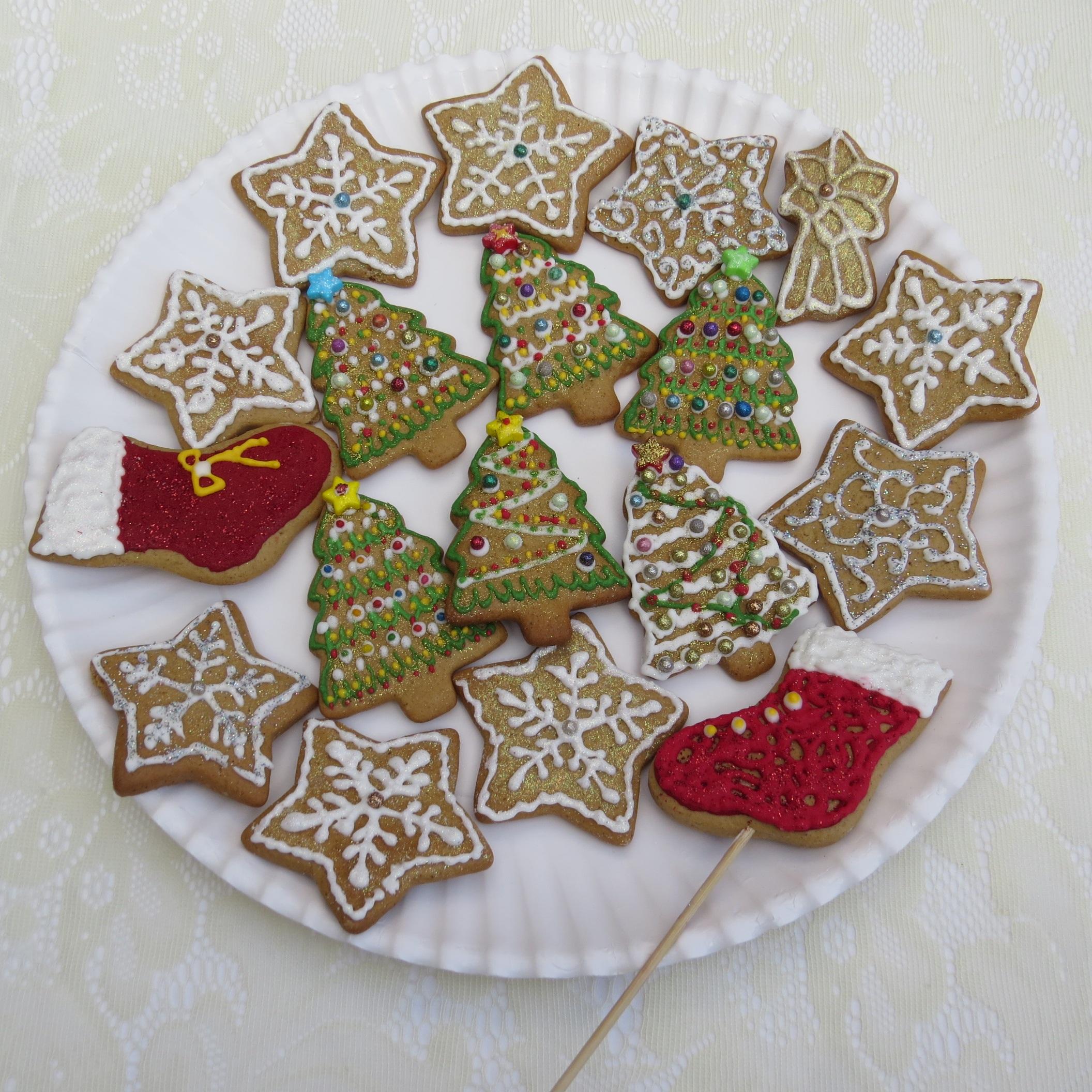 postre joyera art colores formacin de hielo organo pan de jengibre fiestas alegre accesorio de moda bocadillos pasteles de navidad