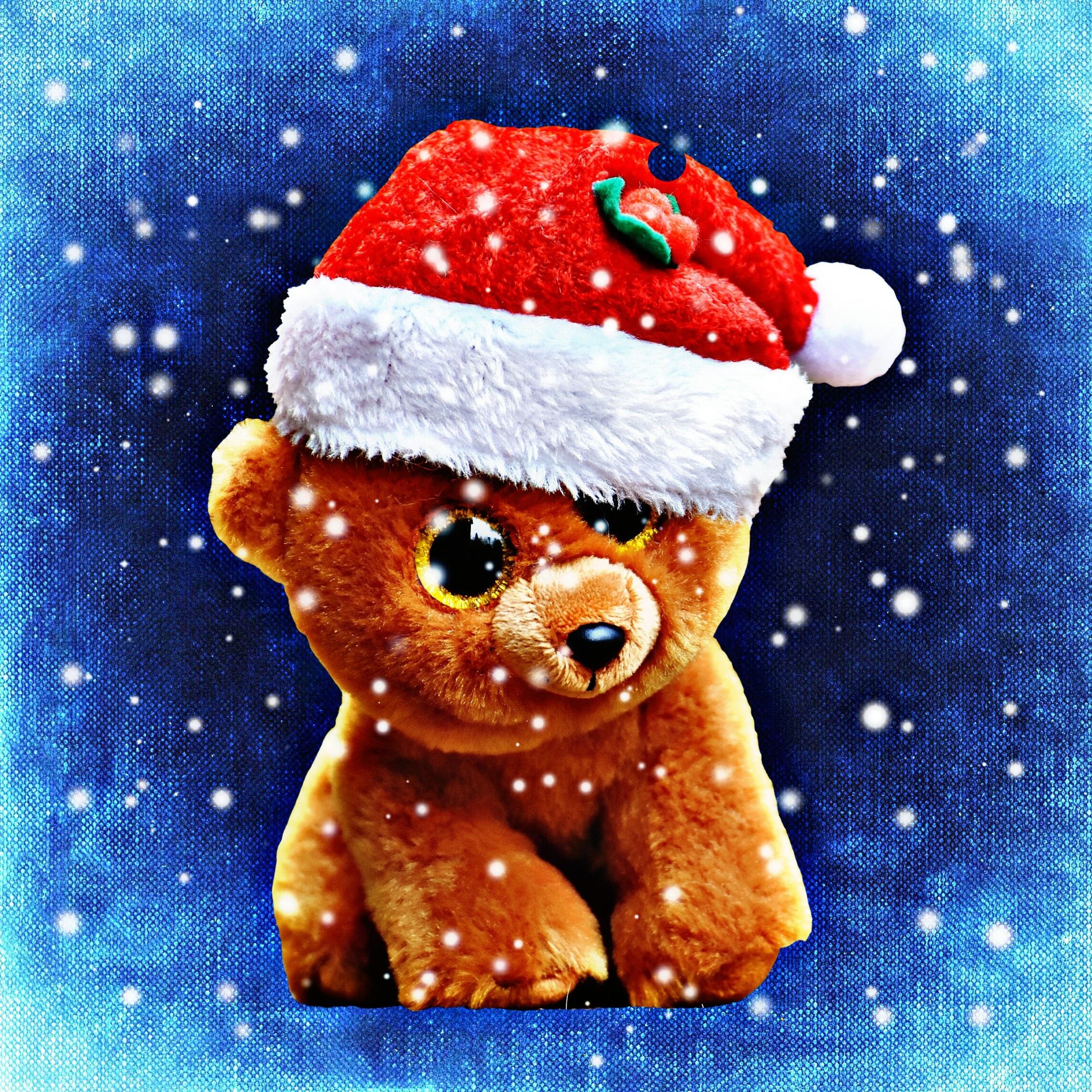 Gambar Manis Imut Makanan Hari Natal Pencuci Mulut Beruang Teddy Hat Santa Ilustrasi Orang Orangan Salju Lucu Boneka Binatang Yg Suka Diemong Sinterklas Mainan Anak Mainan Lunak Karakter Fiksi Mata Gemerlapnya 2289x2289