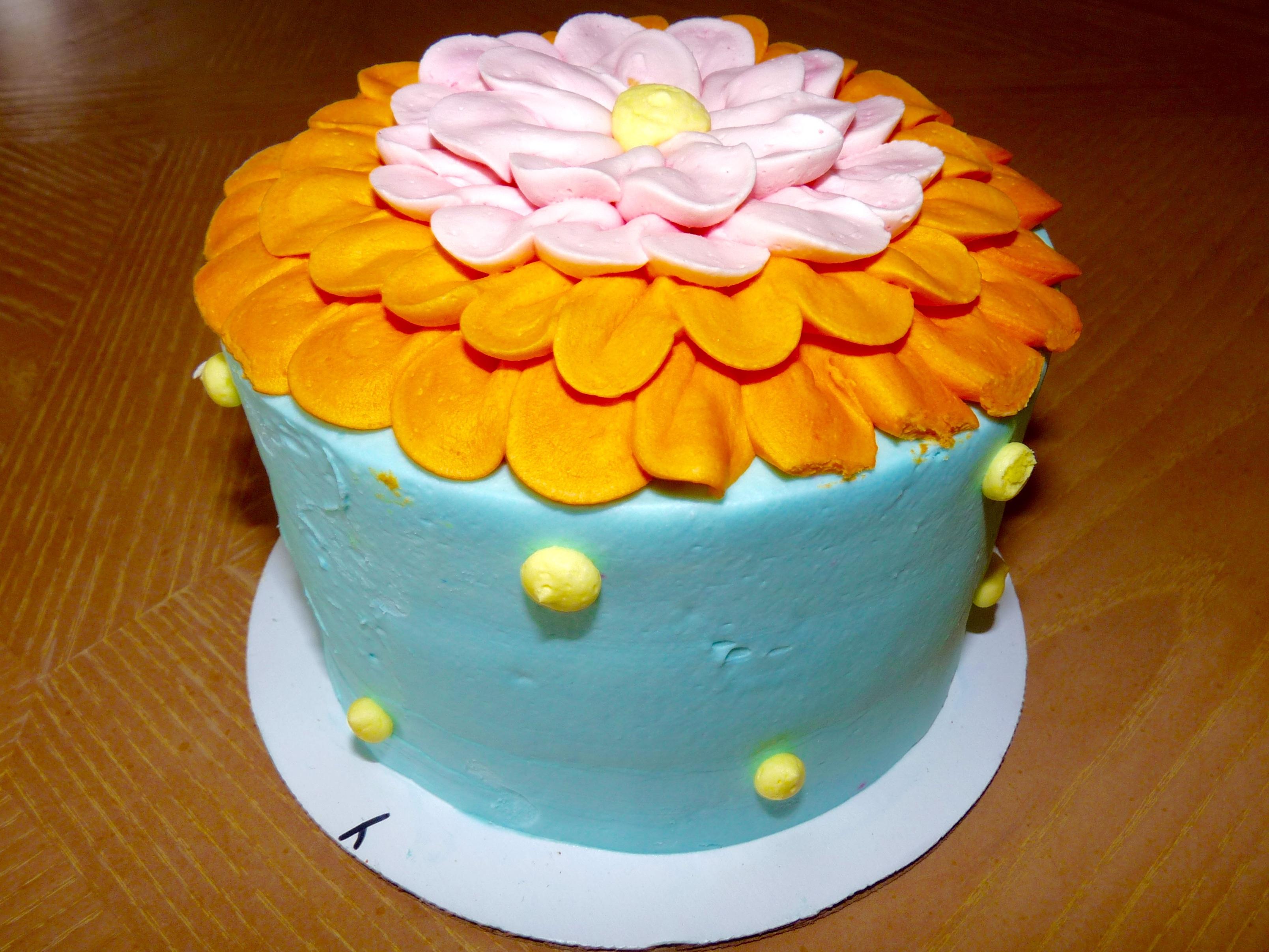 Free Images Sweet Flower Decoration Orange Food Yellow