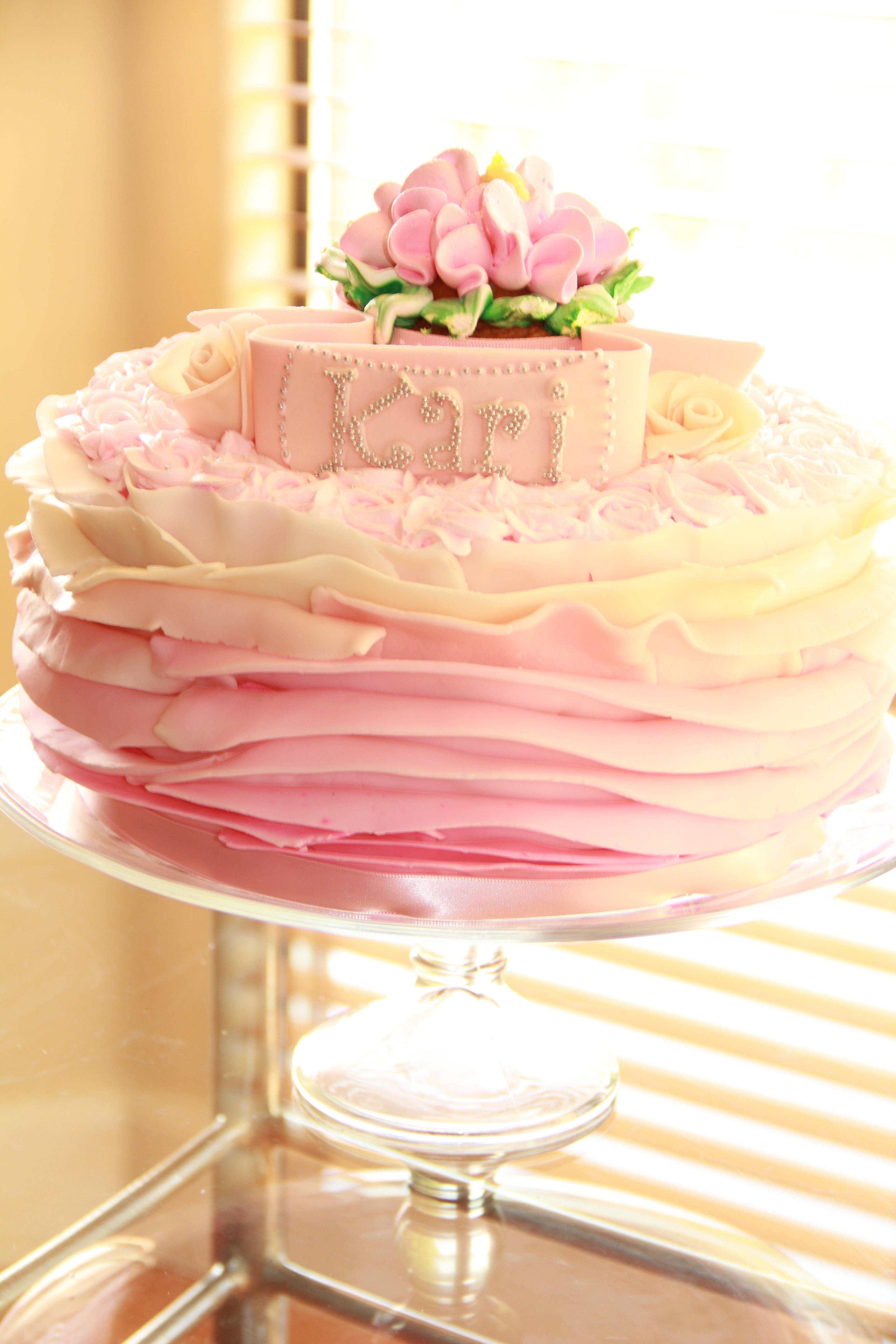 Free Images : sweet, flower, petal, celebration, food, pink, dessert ...