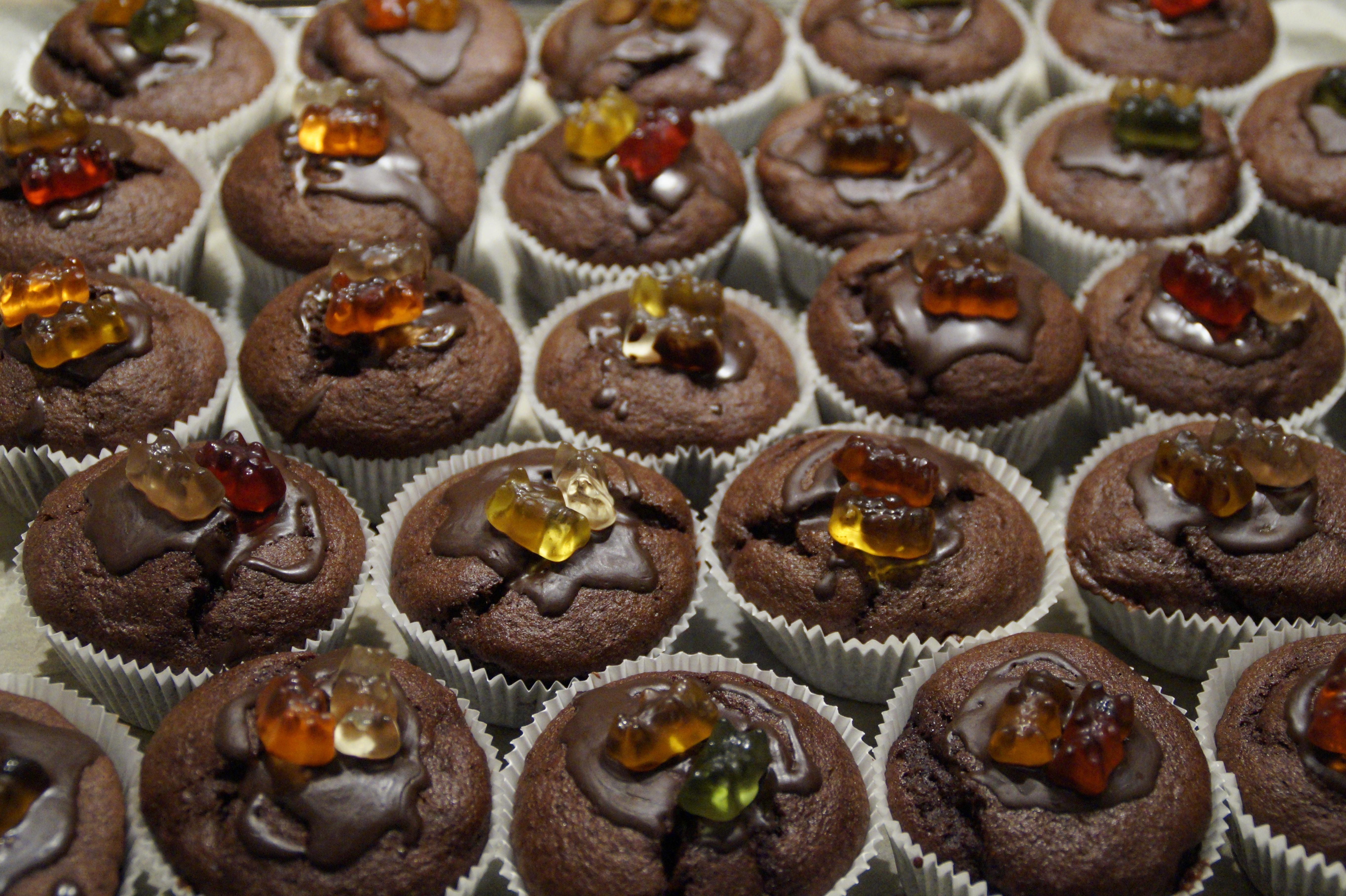 Free Images Sweet Food Produce Brown Cupcake Baking Dessert