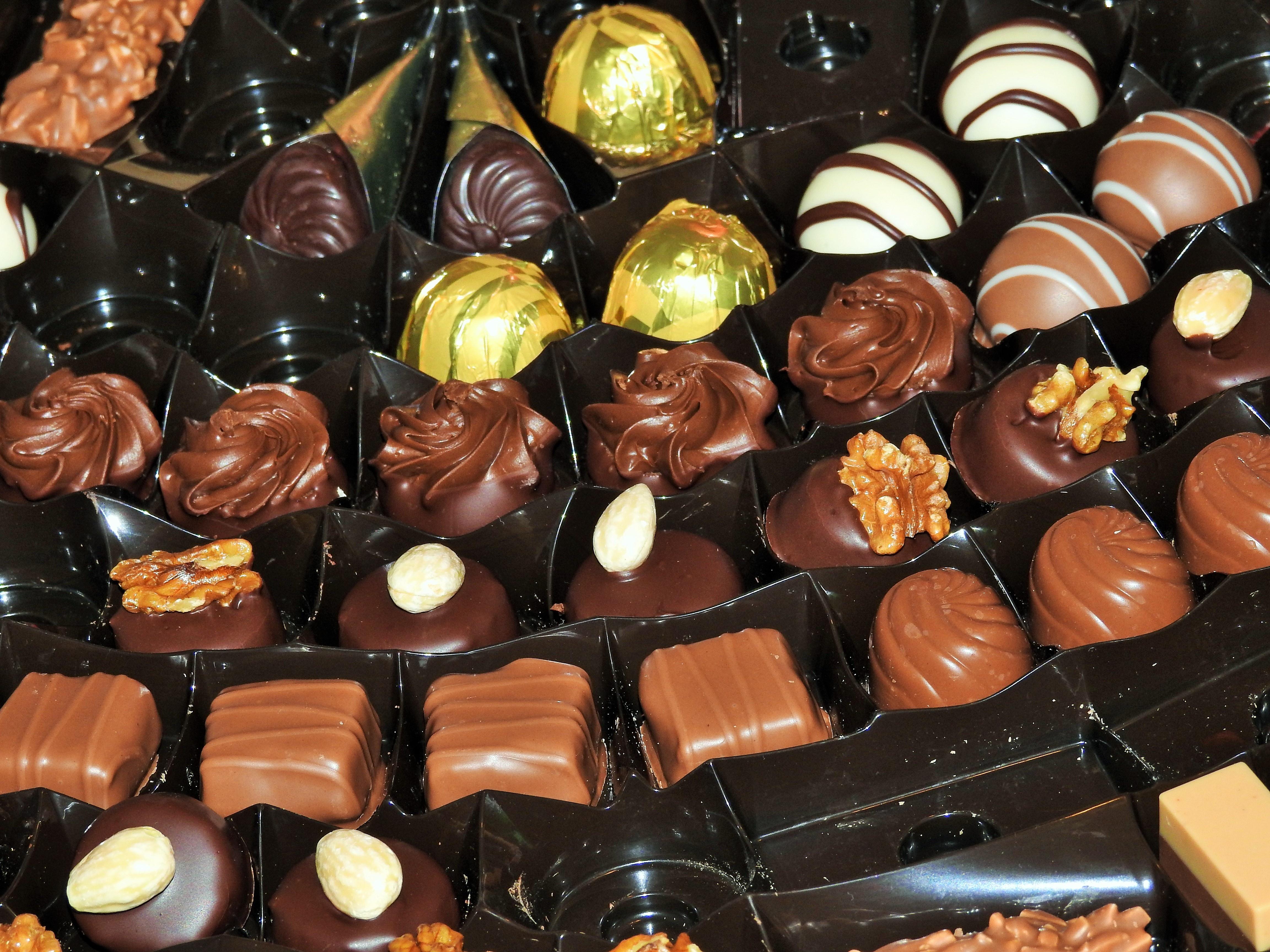 картинки большая шоколадная конфета эти