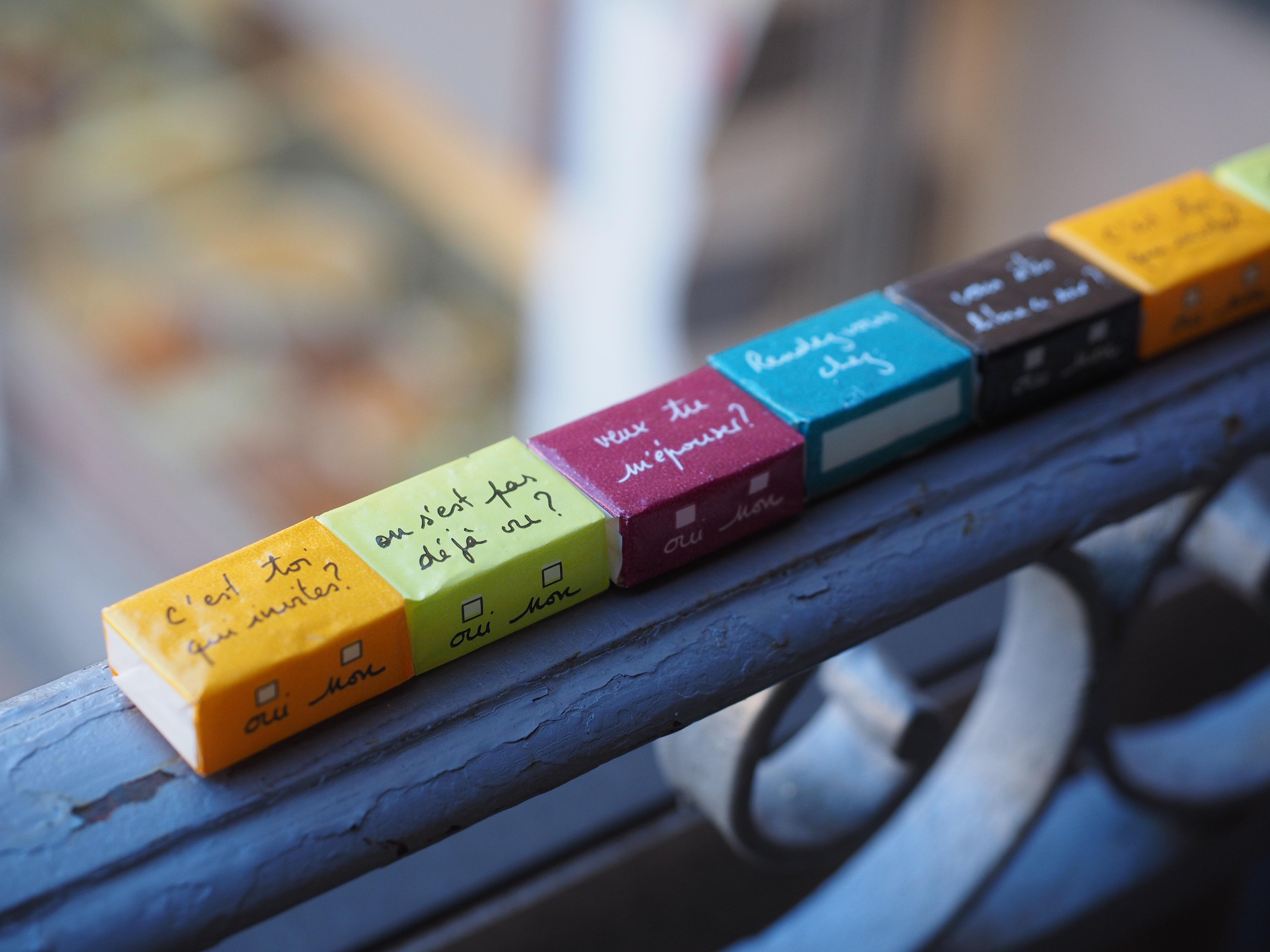 Manis Jumlah Makanan Warna Warna Warni Kuning Energi Merapatkan Kalori Perancis Gula Makanan Kubus Pengemasan Public Domain