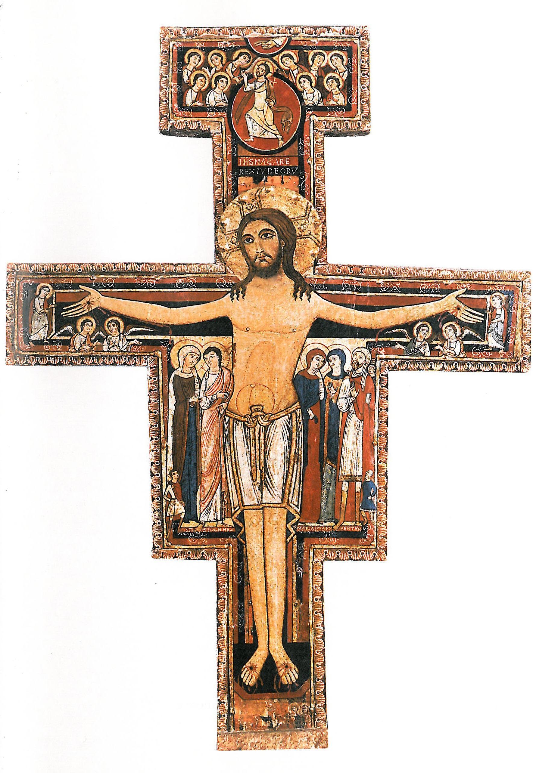 Free Images Symbol Cross Crucifix Assisi Saint Francis